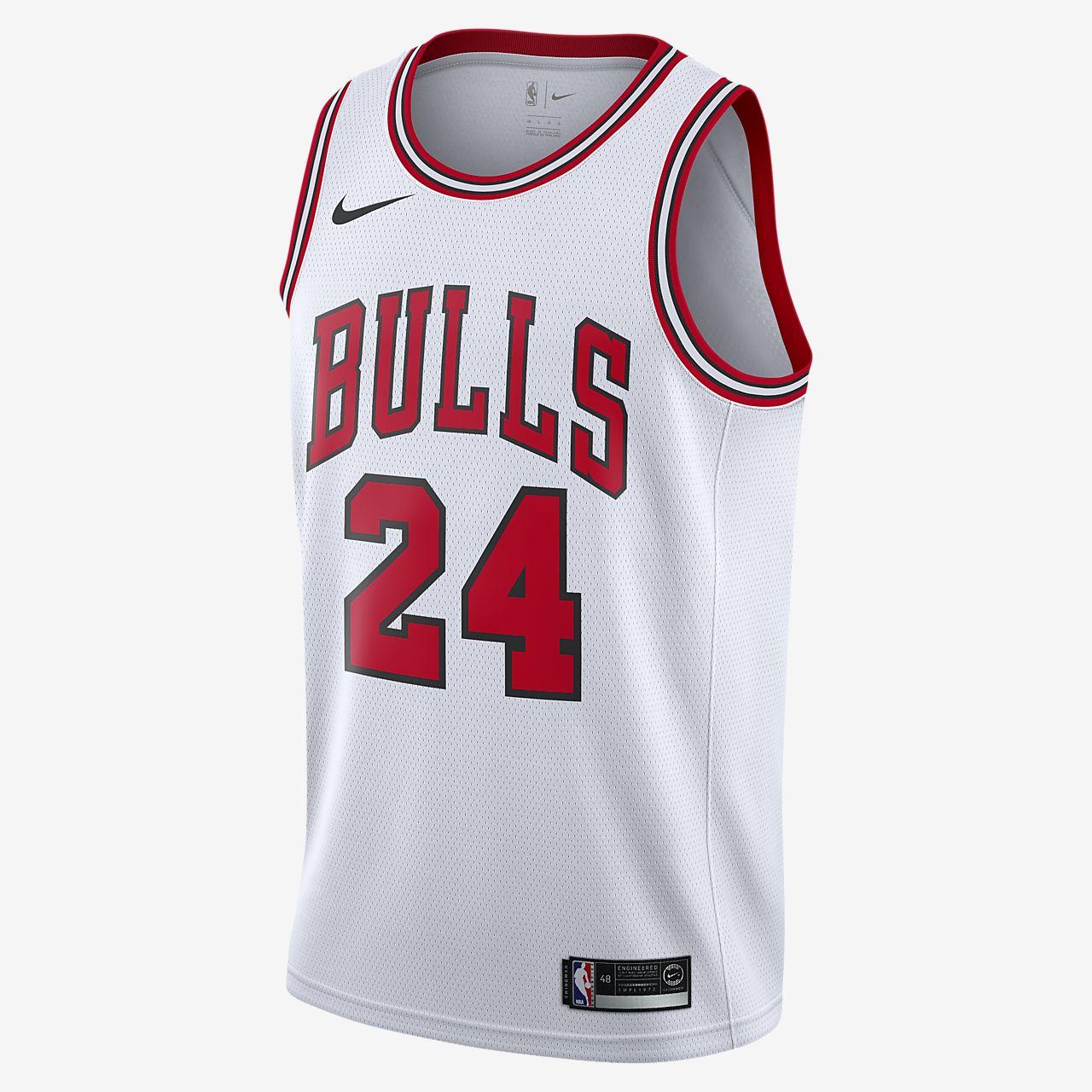Camiseta Nike NBA Swingman Lauri Markkanen Bulls Association Edition