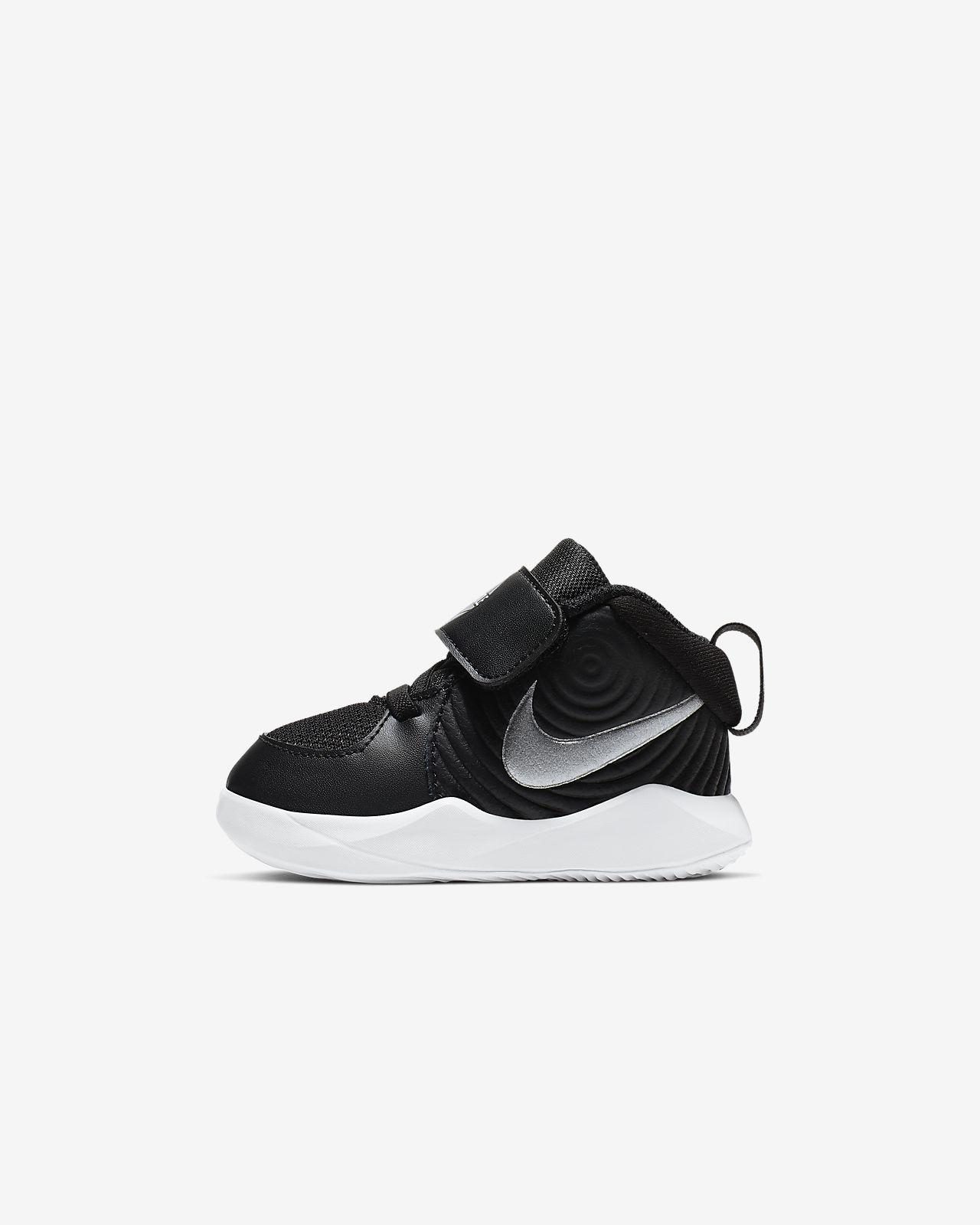 Scarpa Nike Team Hustle D 9 NeonatiBimbi piccoli