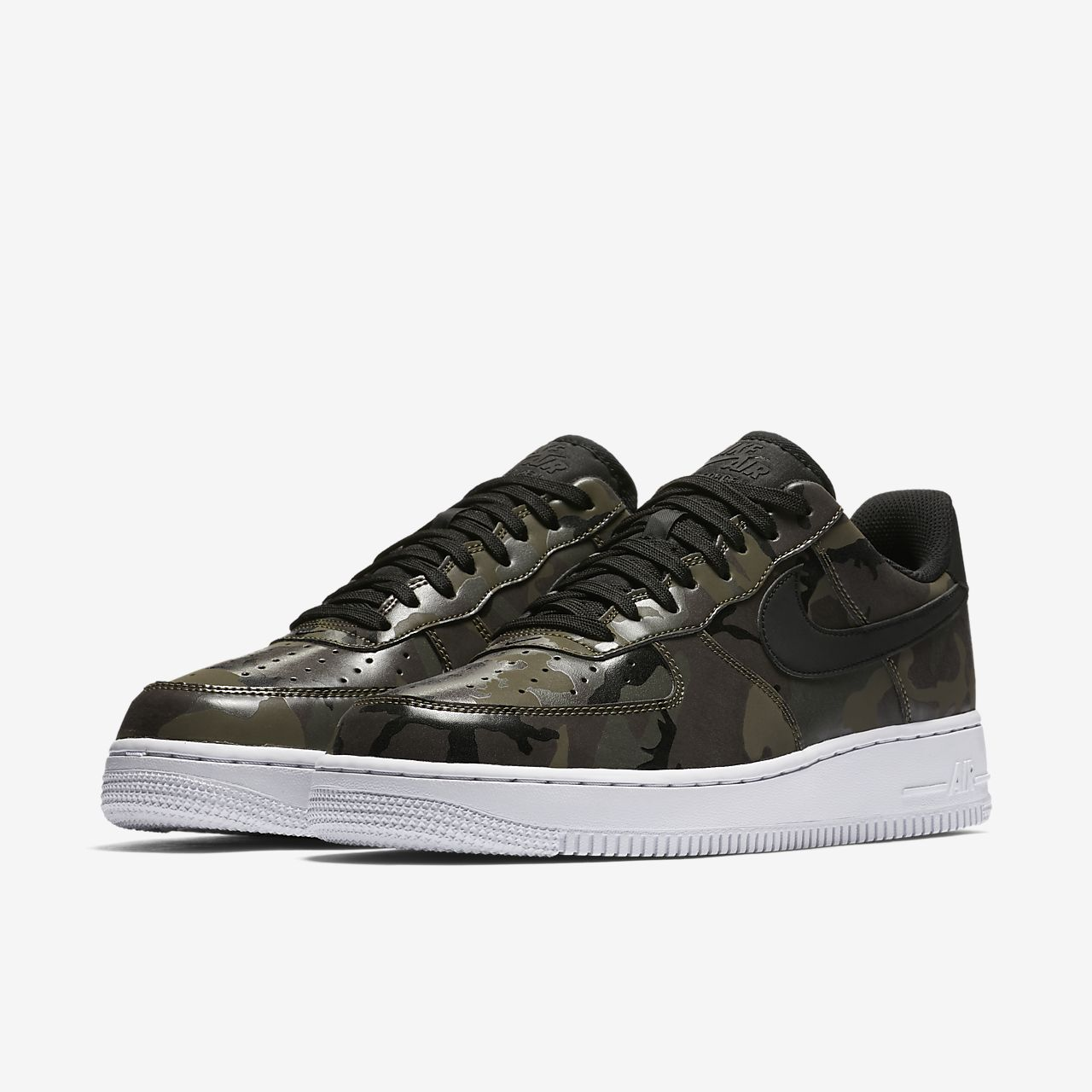 Nike Air Force 1 07 Low Camo Mens Shoe