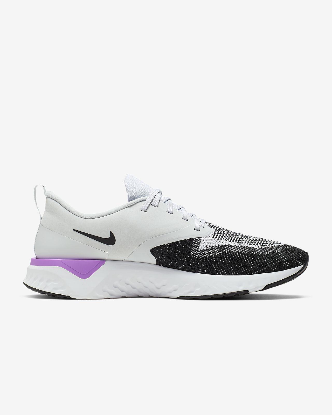 Nike Epic React Flyknit 2 Damen Laufschuh whiteblack pure