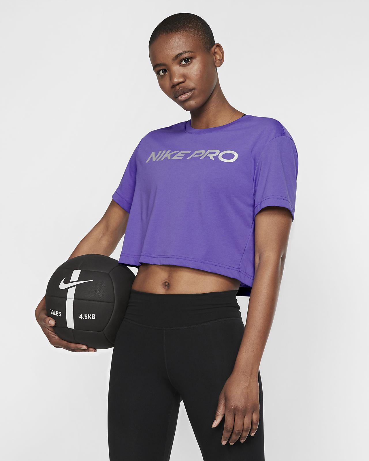 Damski T-shirt treningowy Nike Dri-FIT