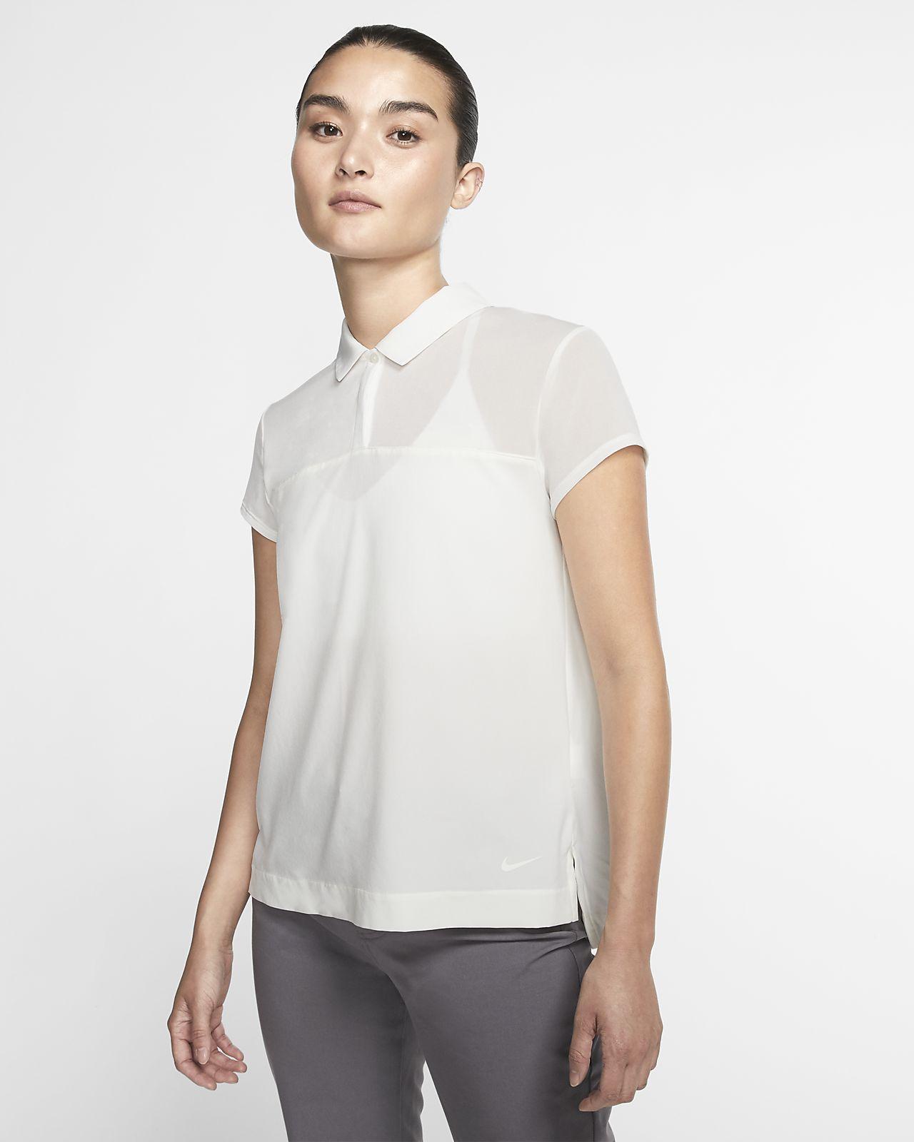 Γυναικεία μπλούζα πόλο για γκολφ Nike Flex