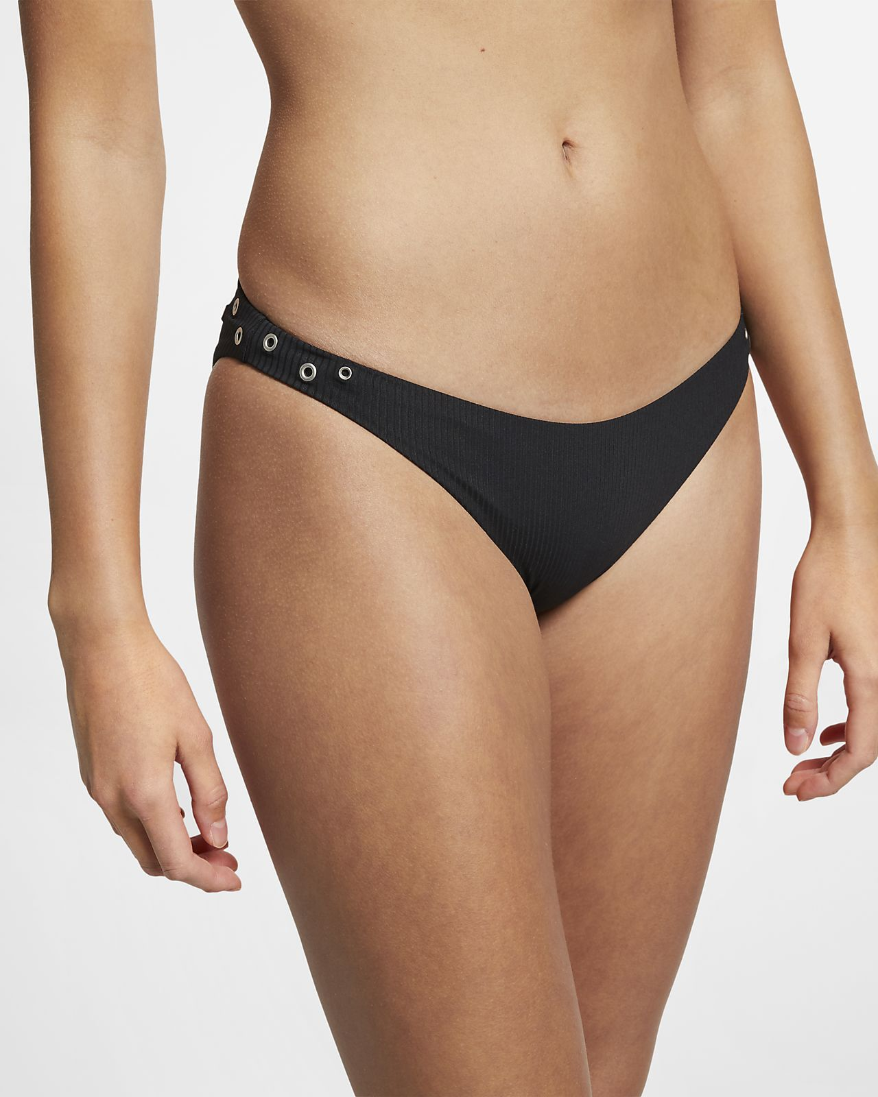 Hurley Quick-Dry Snap Women's Ribbed Surf Bottoms