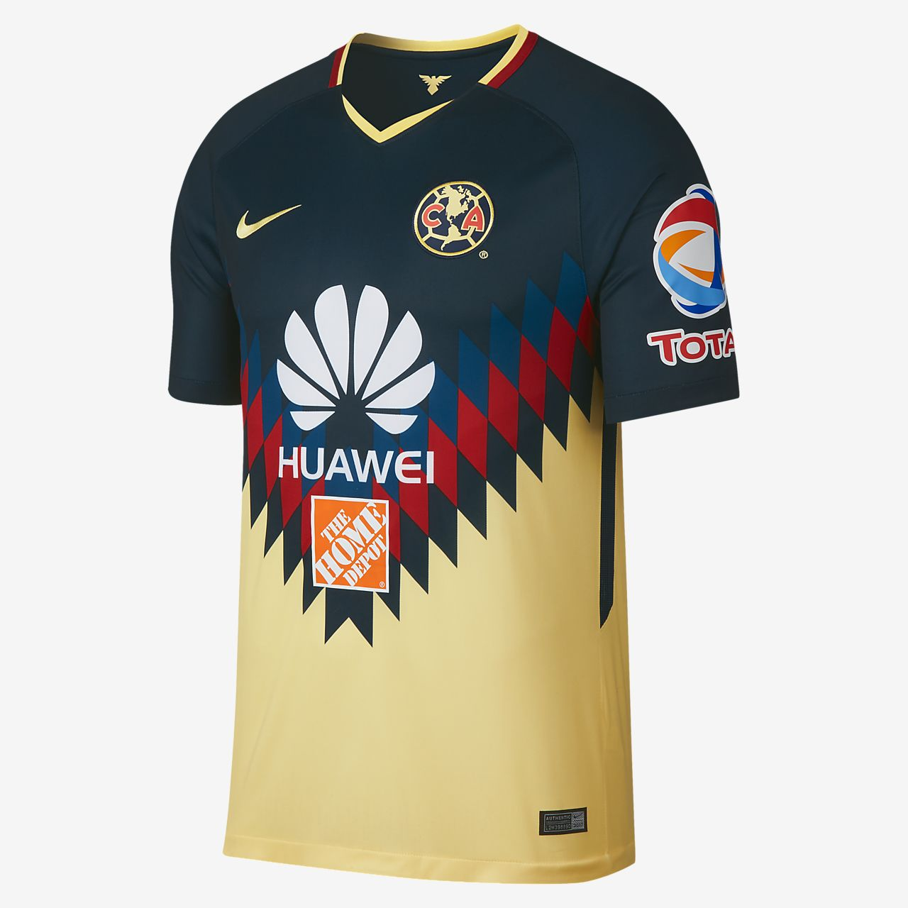 Camiseta de f tbol para hombre club america de local para for Cuarto uniforme del america 2018