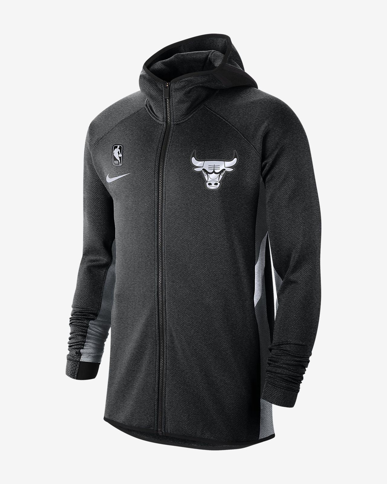 Chicago Bulls Nike Therma Flex Showtime Men's NBA Hoodie