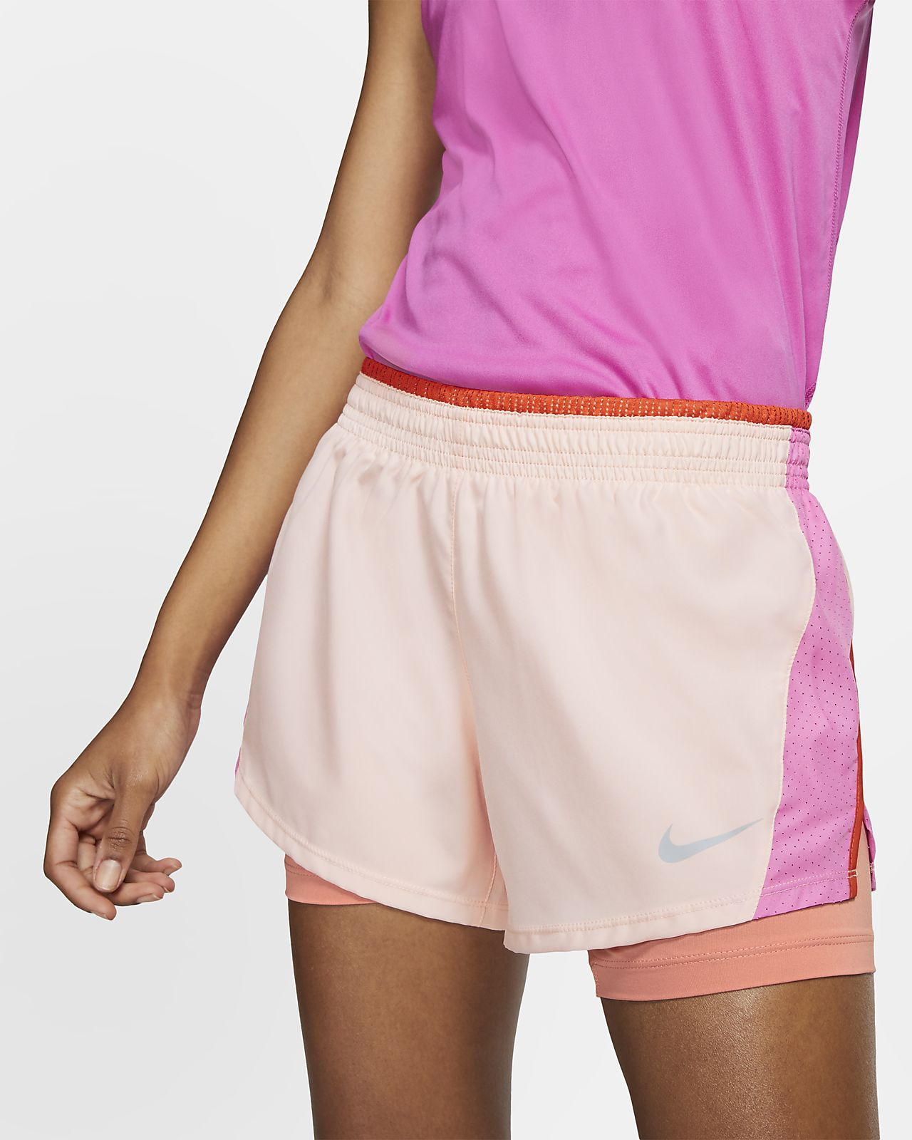 Short de running Nike 10K 2-in-1 pour Femme