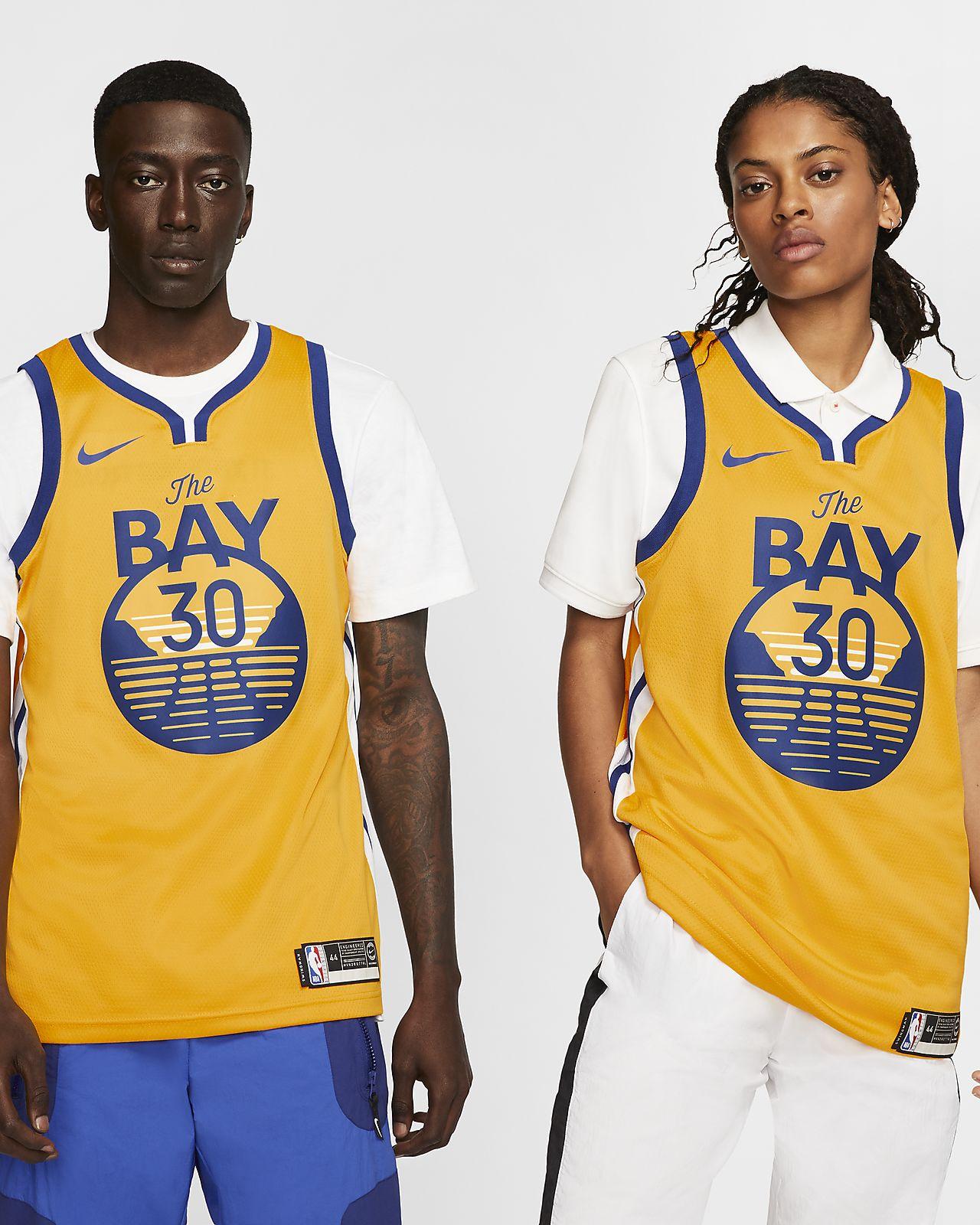 Stephen Curry Warriors Statement Edition Nike NBA Swingman Forma