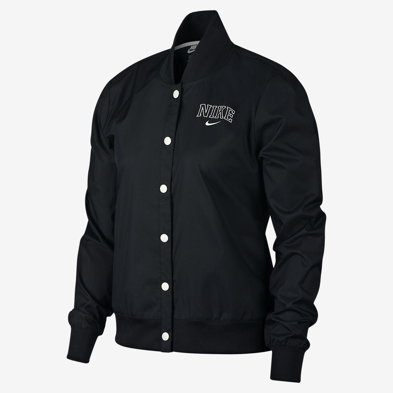 Nike Sportswear Women's Varsity Jacket. Nike GB