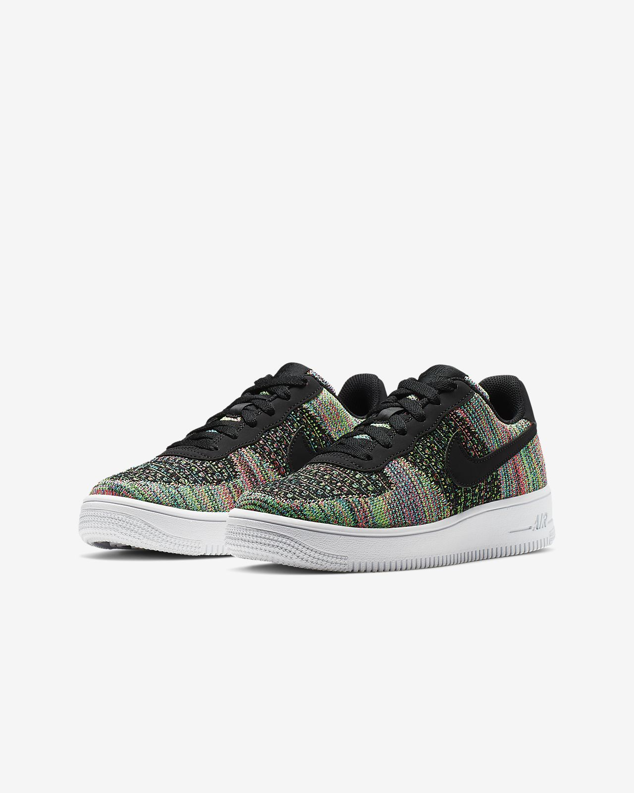 pas mal 34ab3 08d03 Nike Air Force 1 Flyknit 2.0 Younger/Older Kids' Shoe
