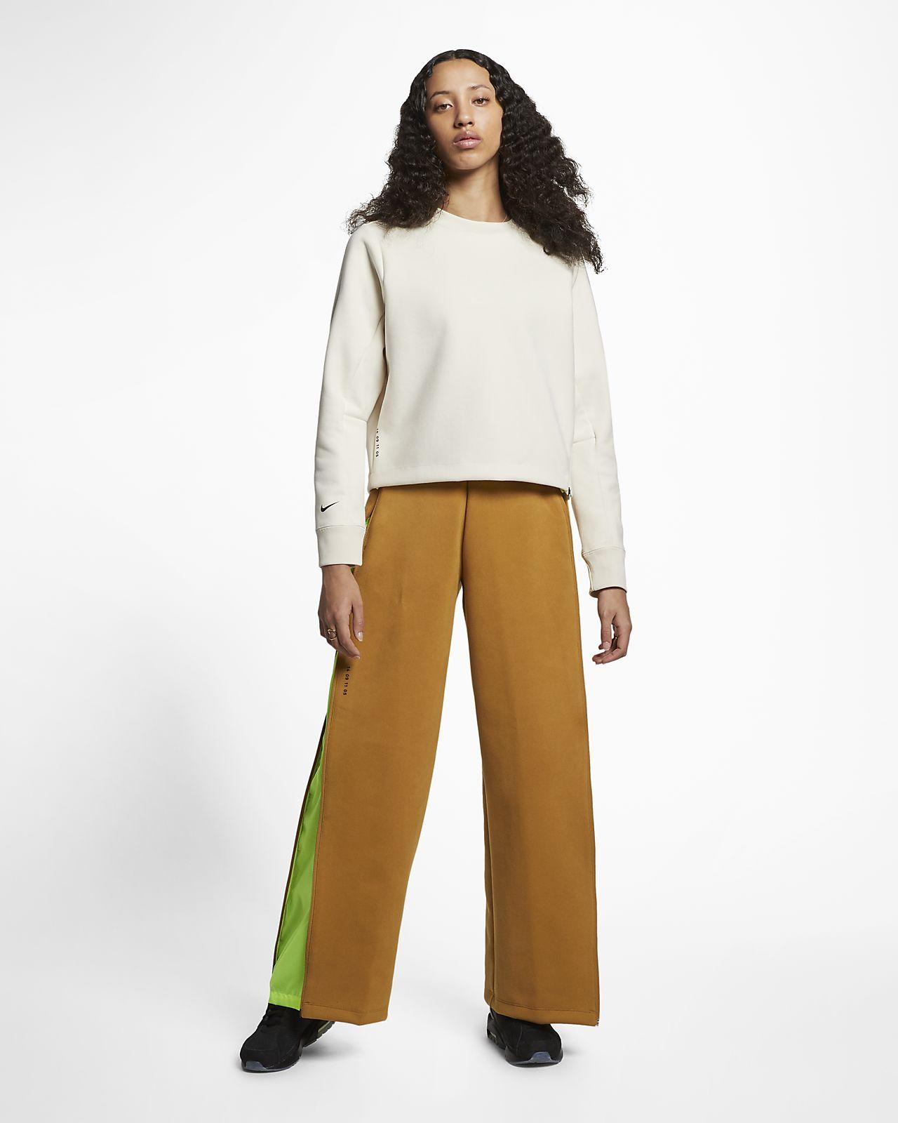 Maglia a girocollo Nike Sportswear Tech Pack Donna