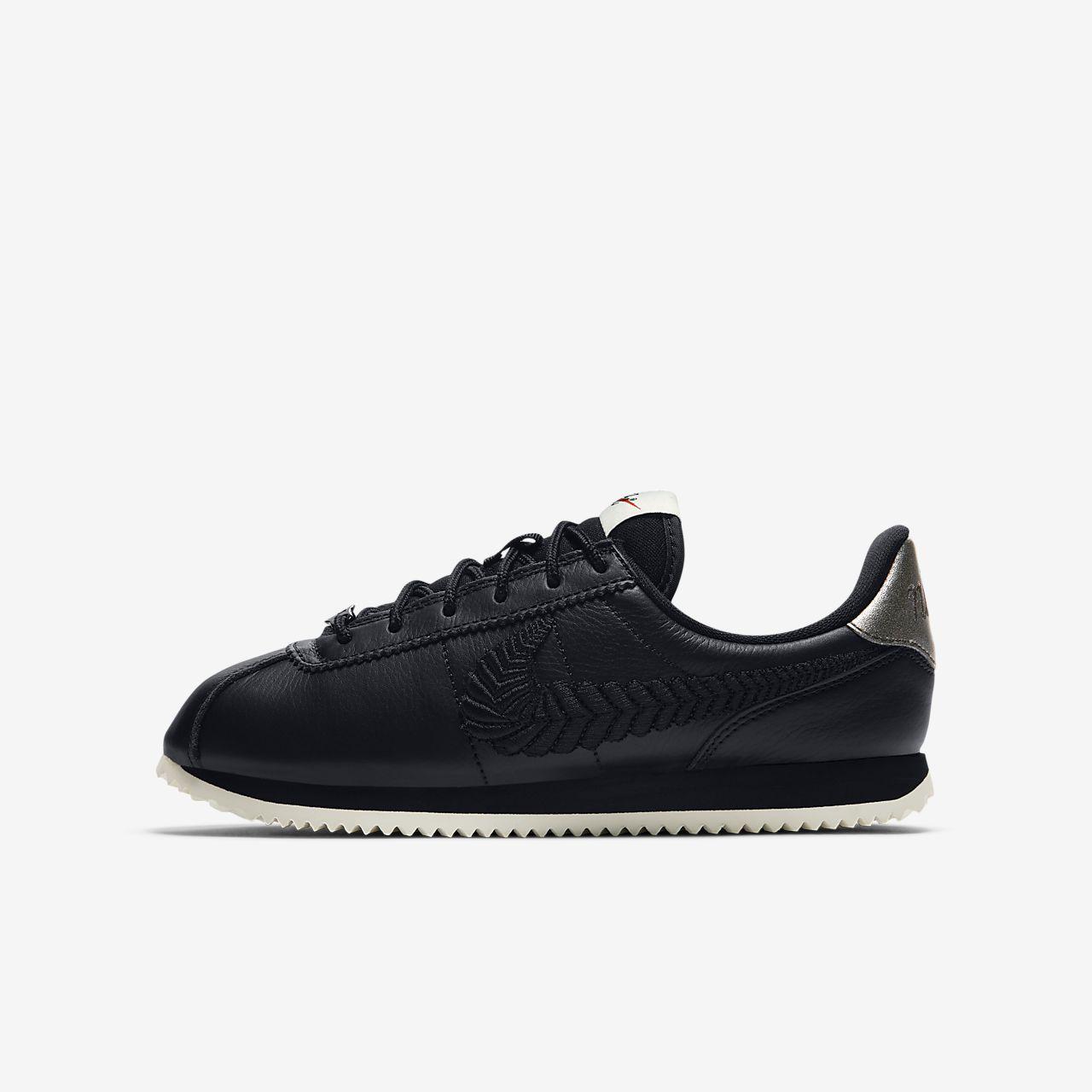 Nike Cortez Basic Premium Embroidered Older Kids' Shoe