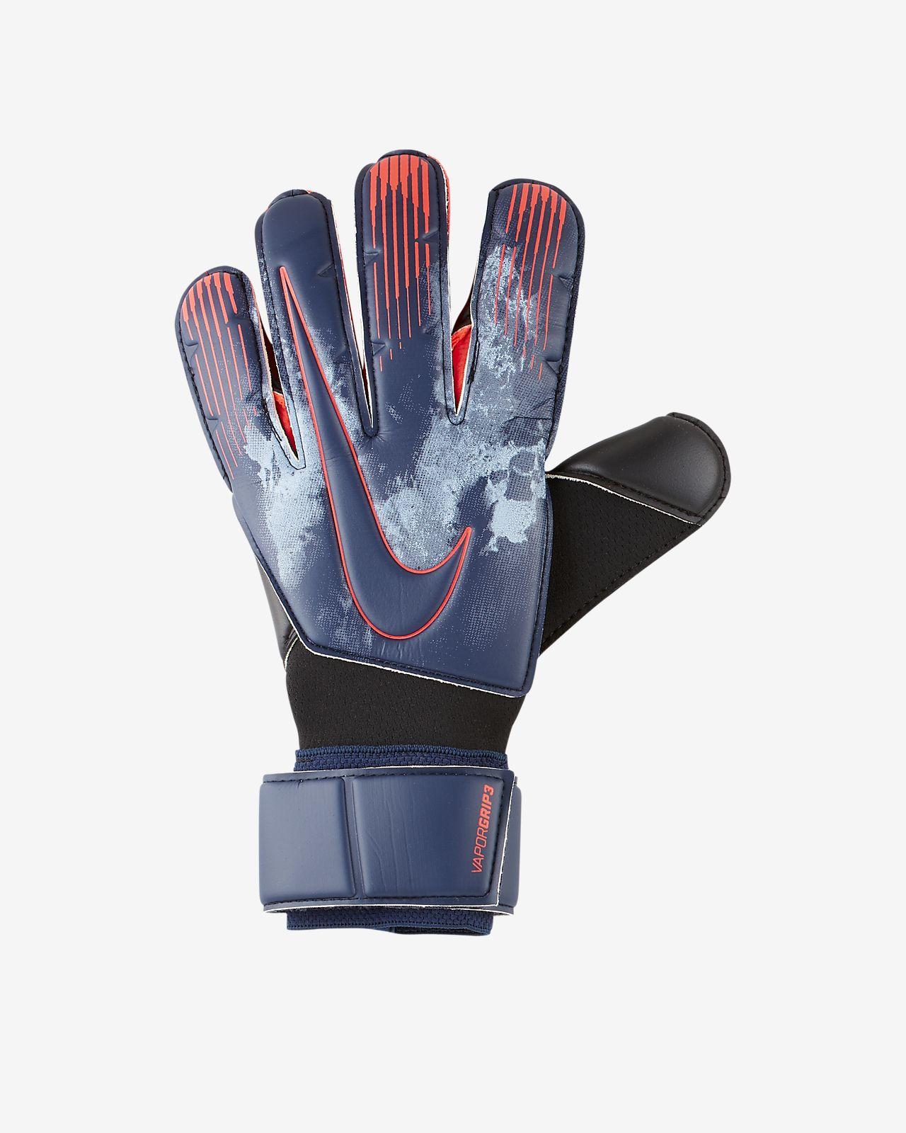 Guantes de fútbol Nike Grip3 Goalkeeper Vapor Strike Night