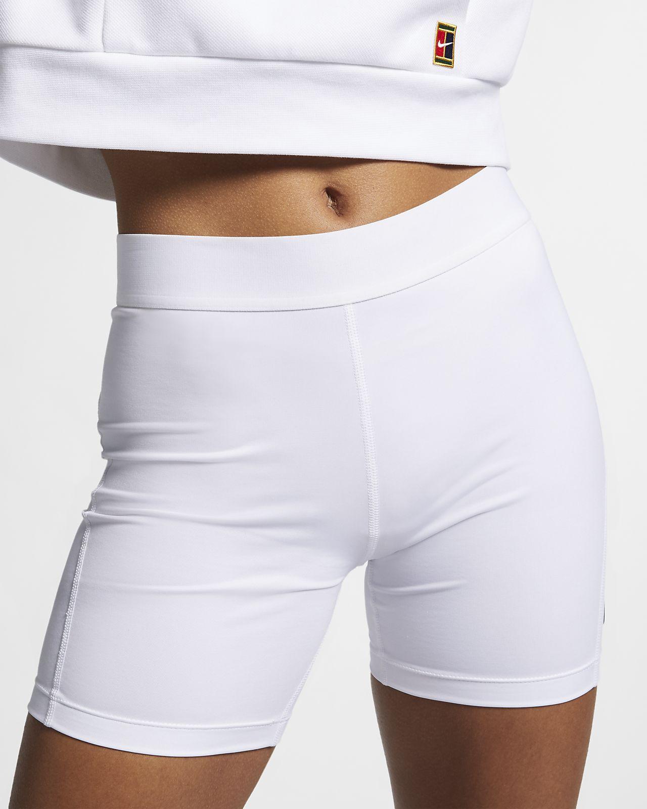 """NikeCourt Power 4"""" tennisshorts til dame (10 cm)"""