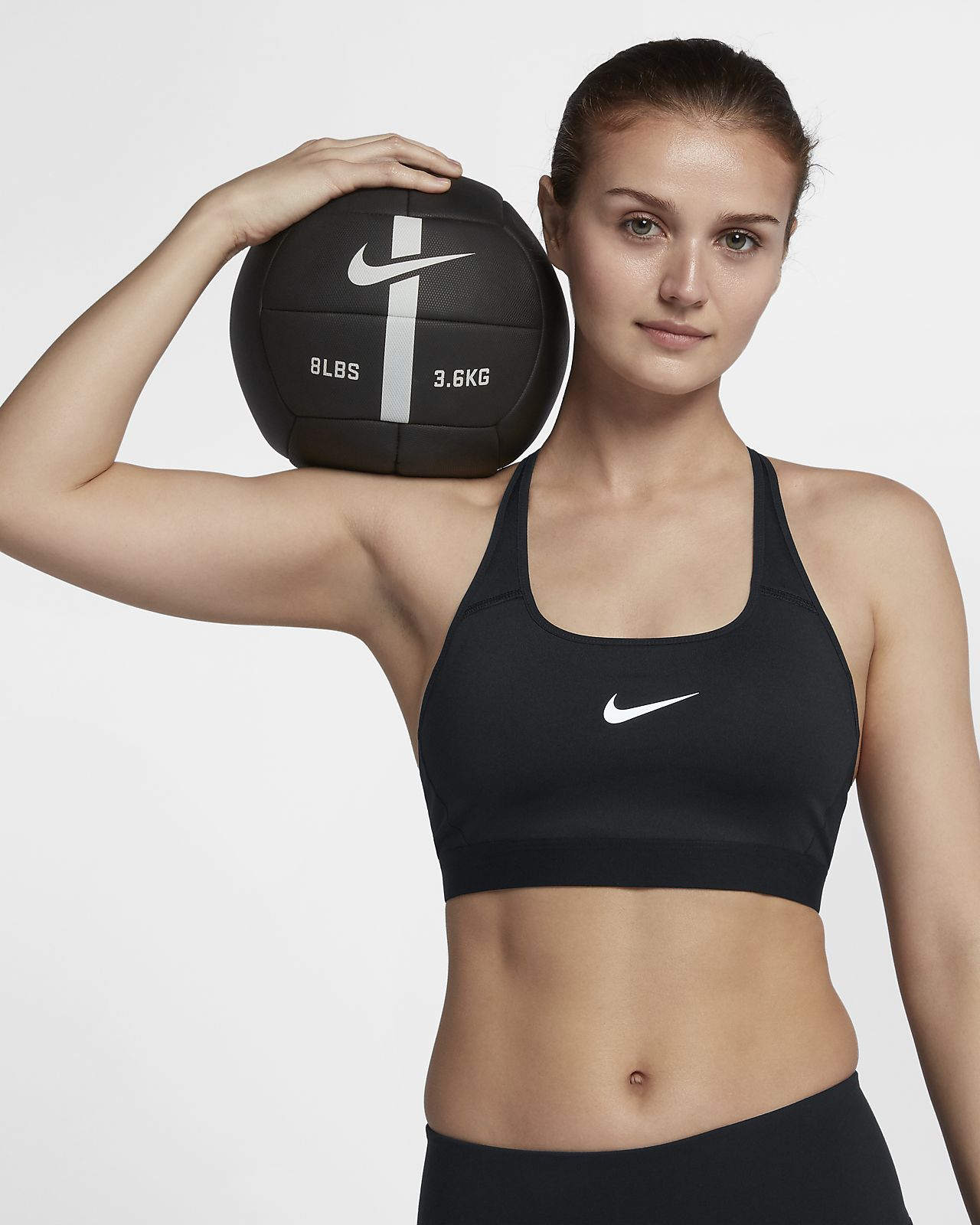 Geniue Stockist For Sale Pink Classic Strappy Sports Bra Nike Clearance Outlet Locations Free Shipping Cheap Price Outlet Best Prices Cheap Online Shop FJBmh