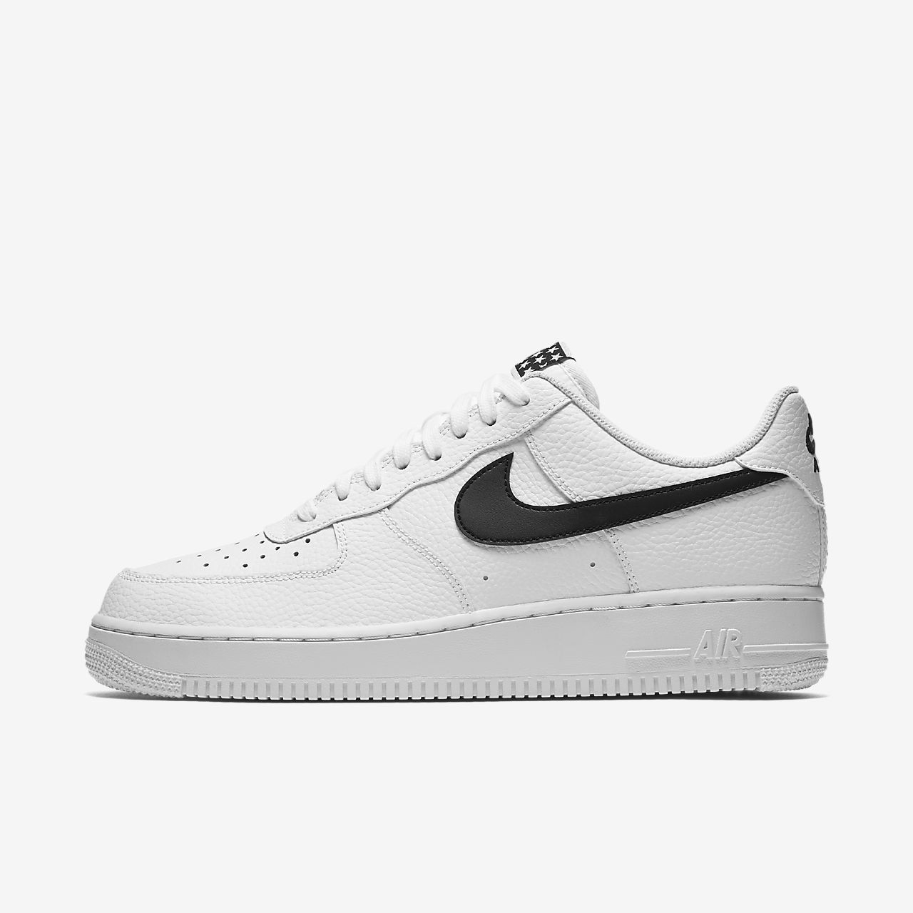 NIKE AIR FORCE 1 ONE '07 WHITE BLACK AA4083-103