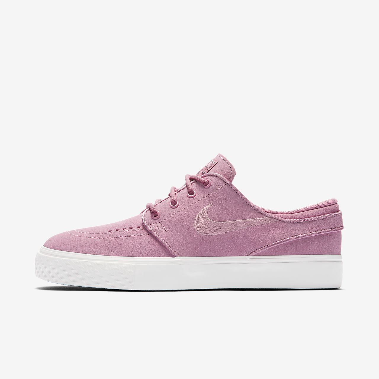 Nike SB Zoom Stefan Janoski  - Girls Skateboarding Shoes - Pink/Blue/White/Pink