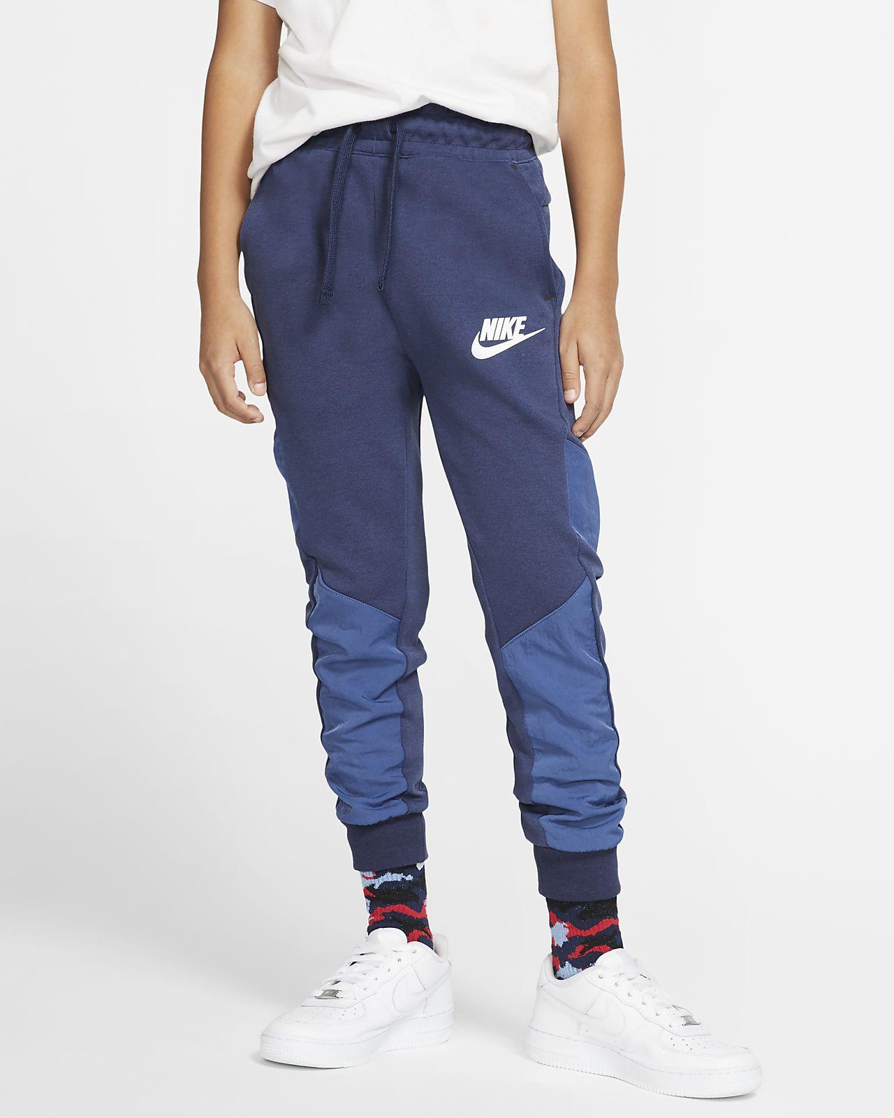 Pantalones acondicionados para invierno para niño talla grande Nike Sportswear Tech Fleece