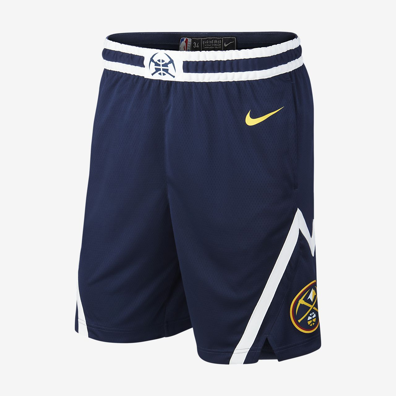 Denver Nuggets Icon Edition Swingman Men s Nike NBA Shorts. Nike.com 99ee7397ab