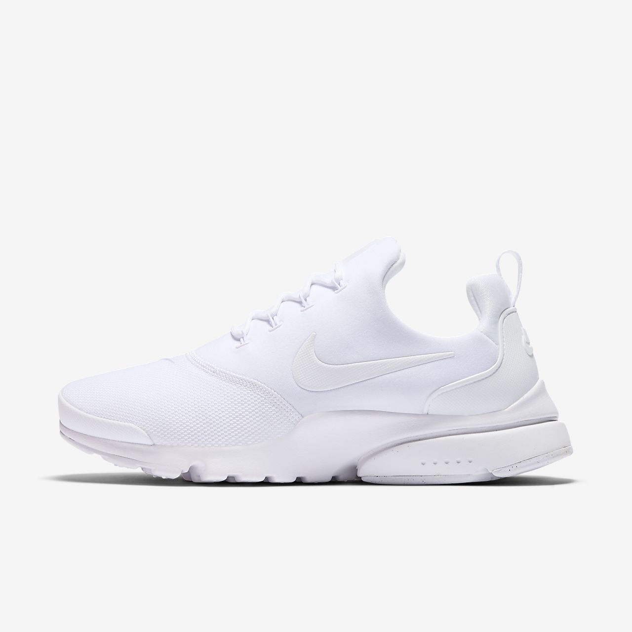 Women Nike Air Presto Fly V5 All White Shoes