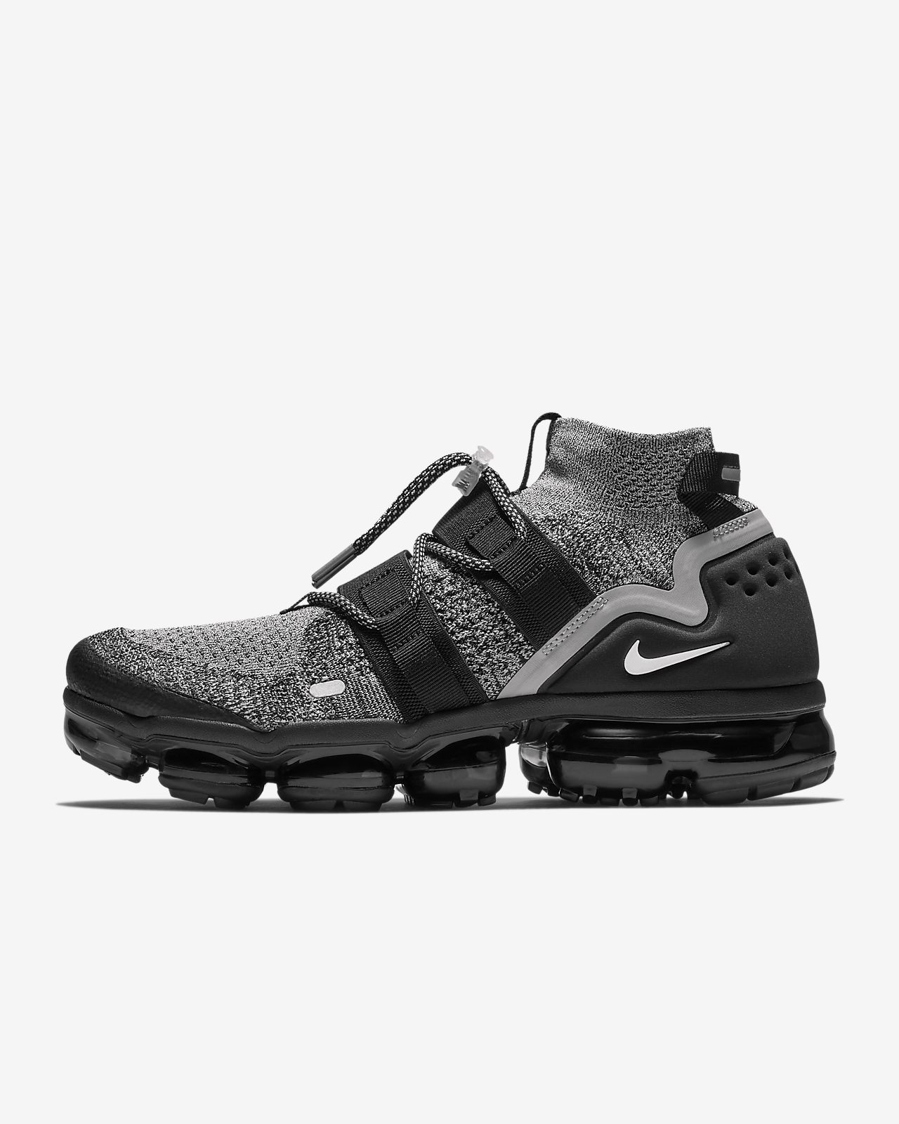 super popular 8f30f 35cf9 wholesale nike air vapormax flyknit triple noir photo 1 8 ...