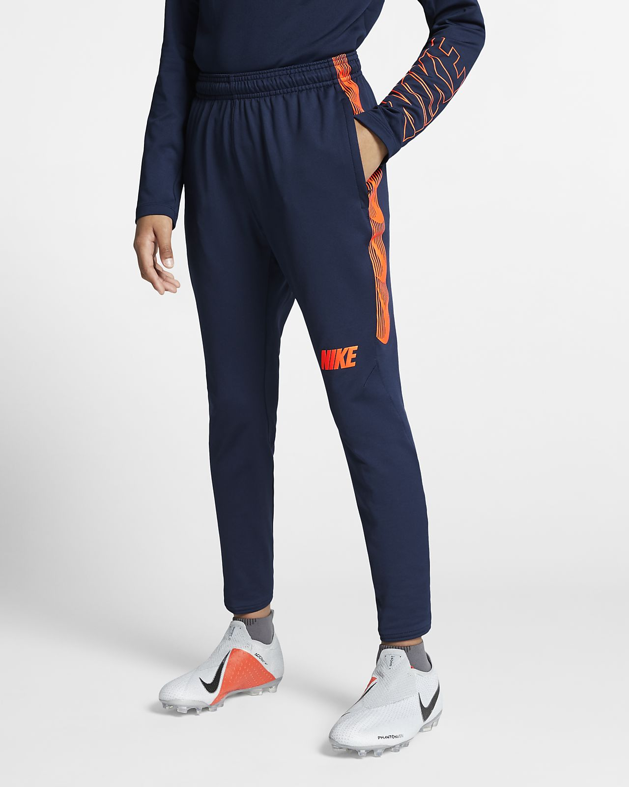 Pantalones de fútbol para niños talla grande Nike Dri-FIT Squad