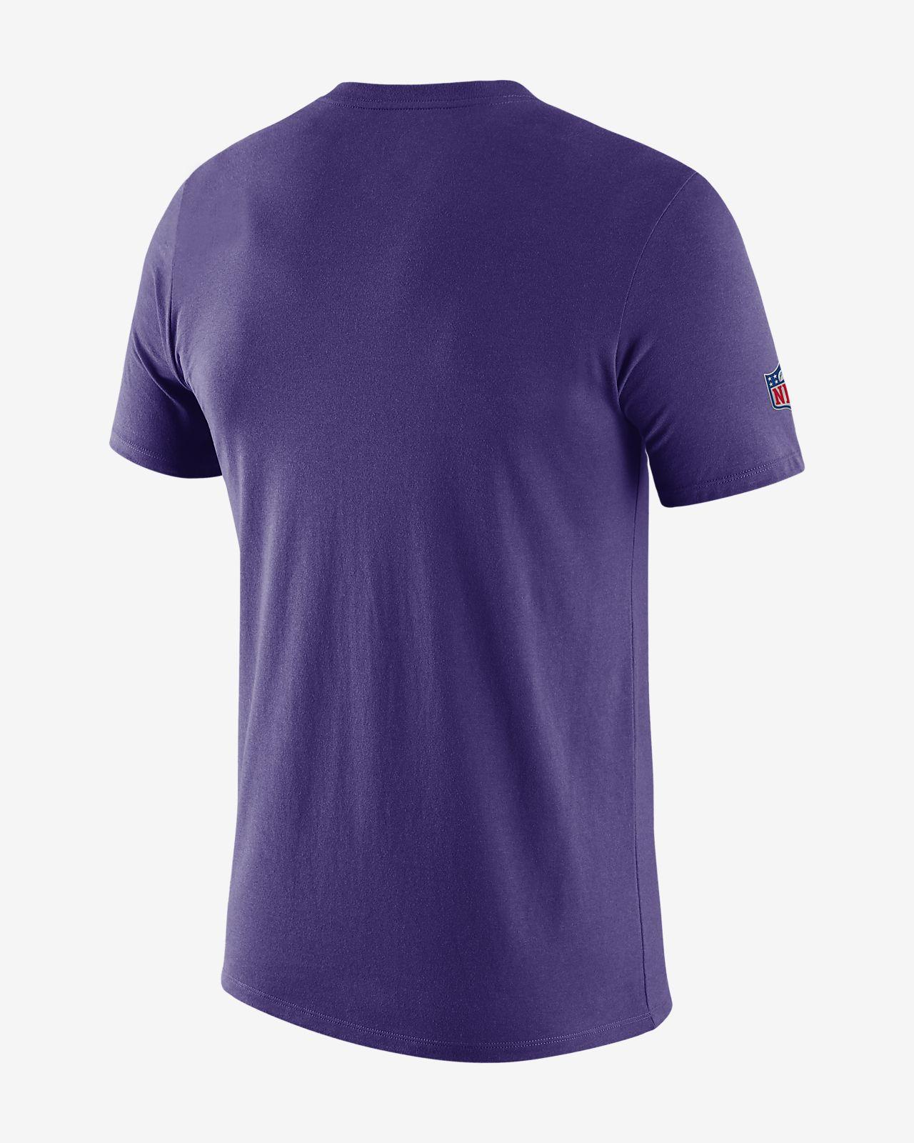 602155af Nike Legend (NFL Vikings) Men's Short-Sleeve T-Shirt