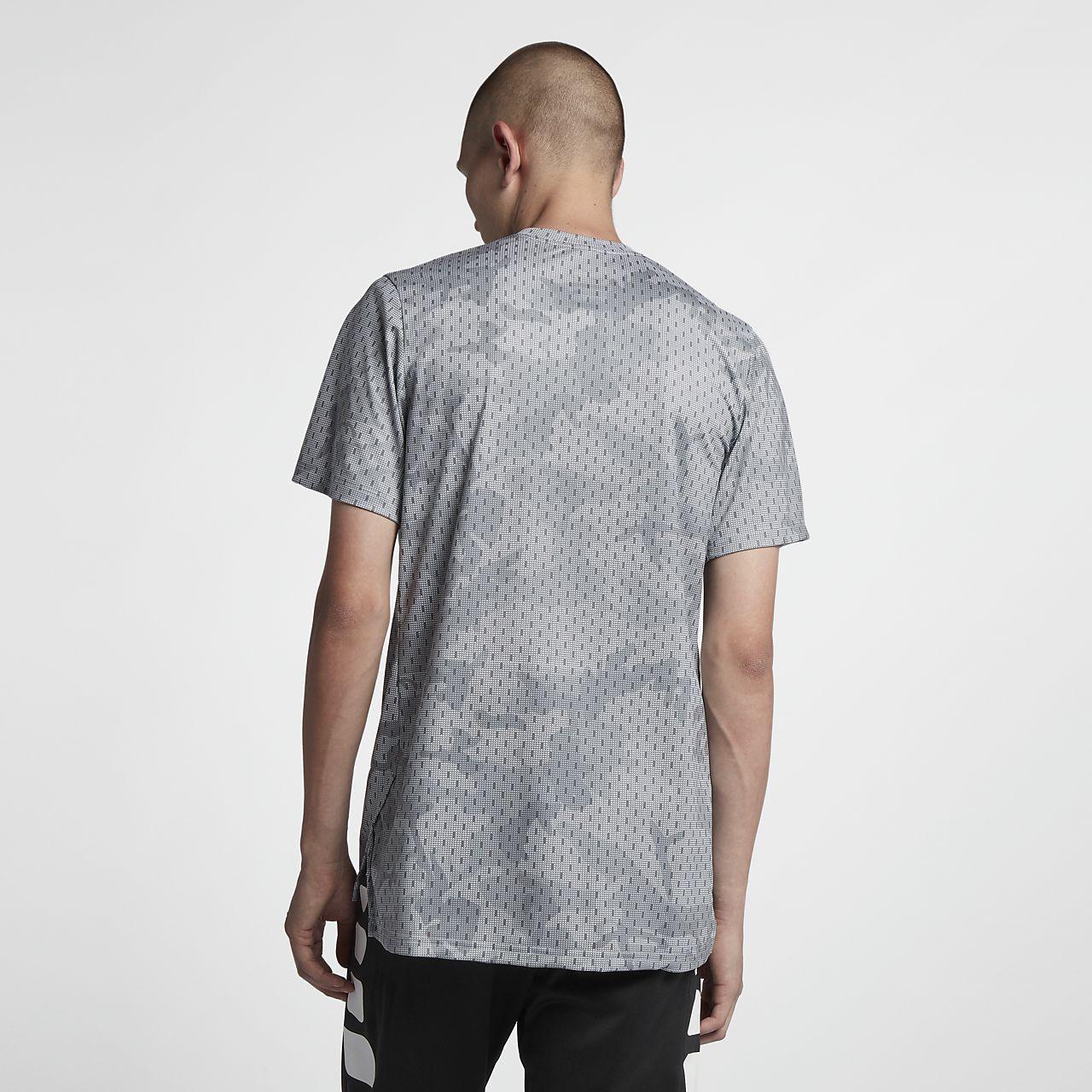e85b6b3e Nike Dri-FIT Elite Men's Short-Sleeve Basketball Top. Nike.com ZA