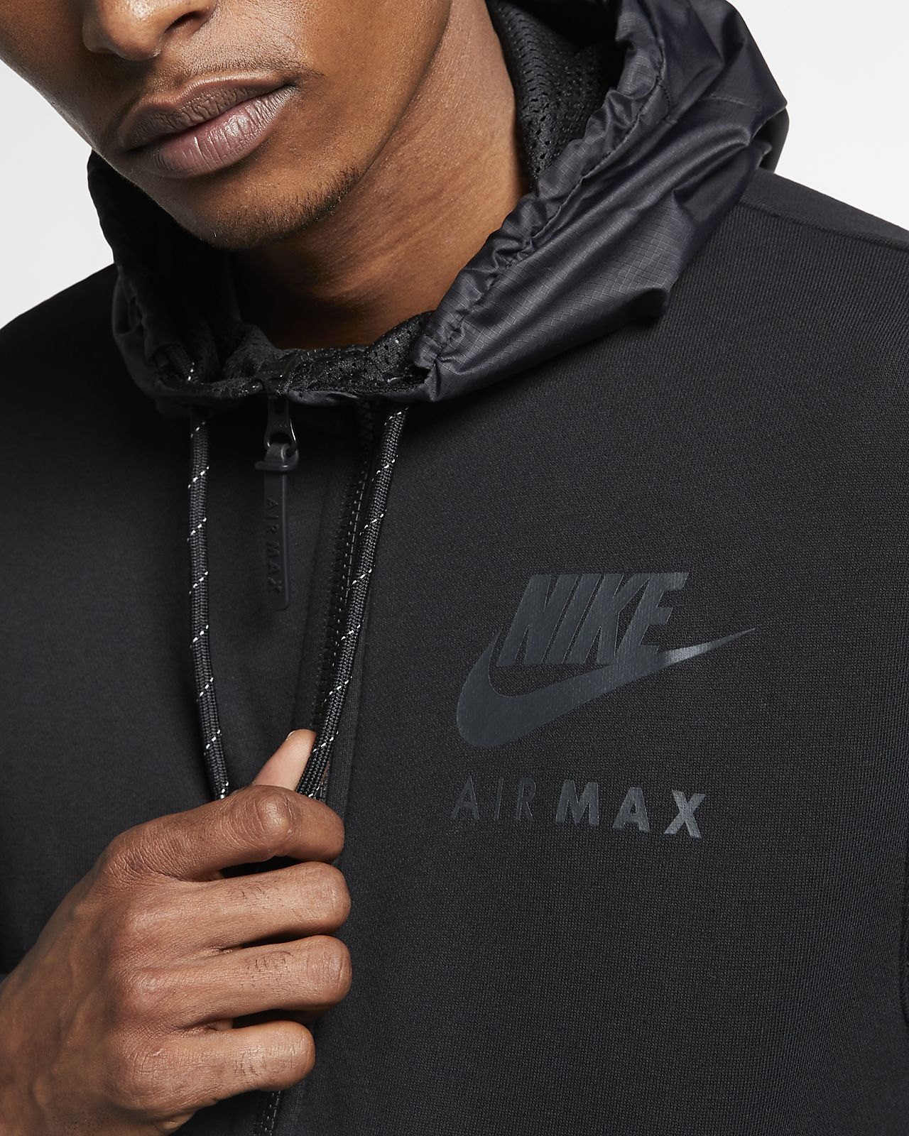 Homme Ca Sweat Pour Nike À En Max Molleton Capuche Air p84xqBgw