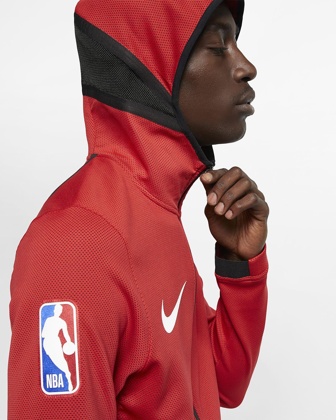 f33278d77ed Chicago Bulls Nike Therma Flex Showtime Men's NBA Hoodie