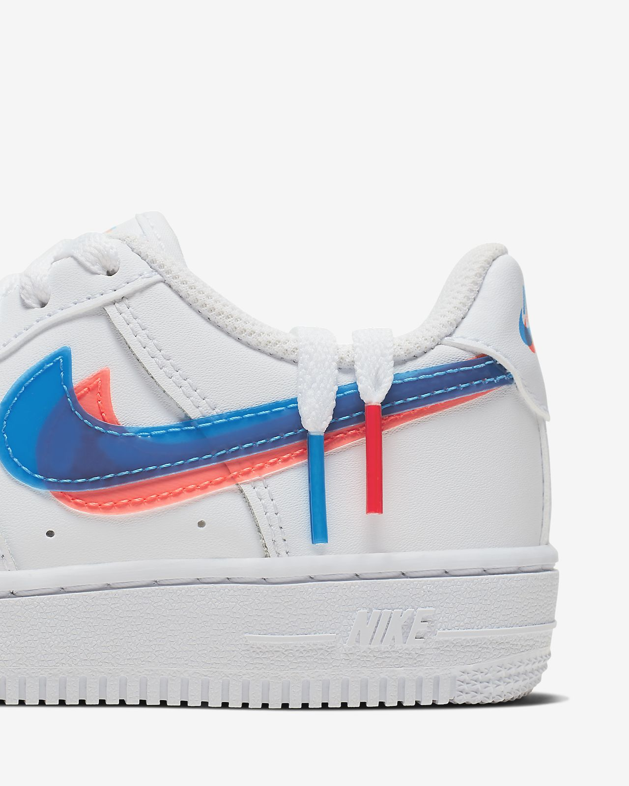Kinder nike Weiß blau Air Force 1 Lv8 Ksa Sneaker
