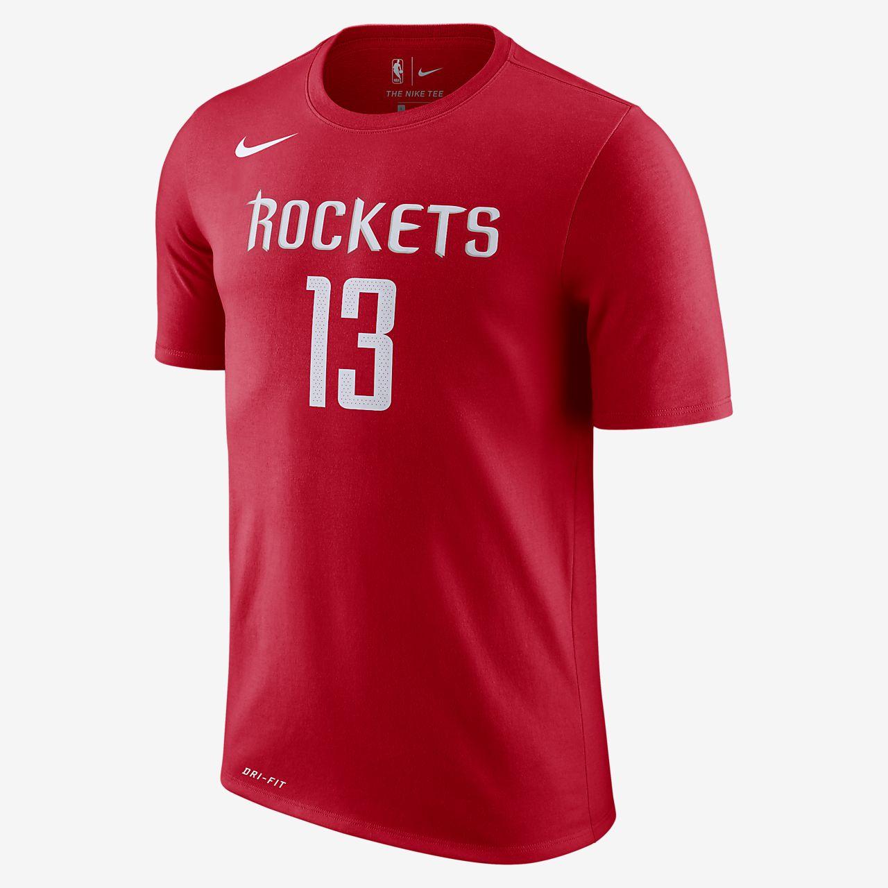 休斯顿火箭队 (James Harden) Nike Dri-FIT 男子 NBA T恤