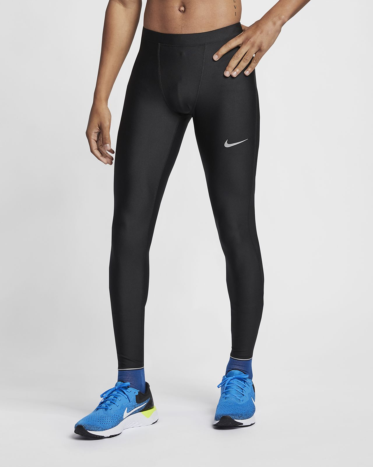 Dri Fit Shield Løpetights Herre Perfekt design NIKE