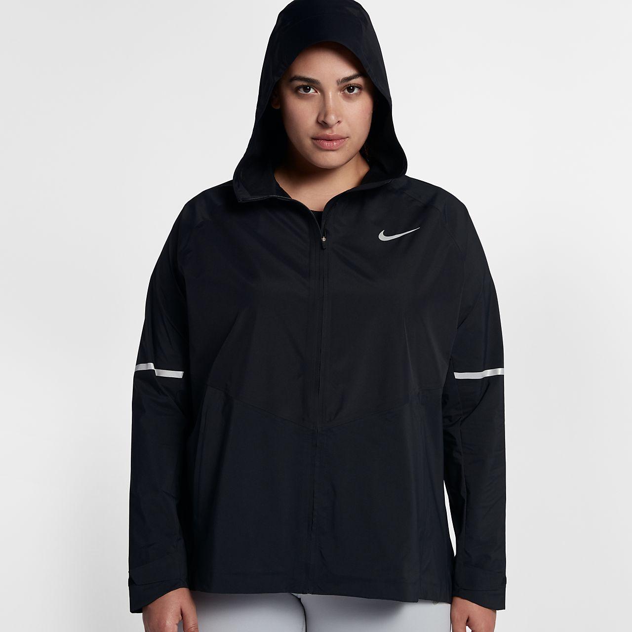 Nike Zonal AeroShield Women Running Jacket (Plus Size)