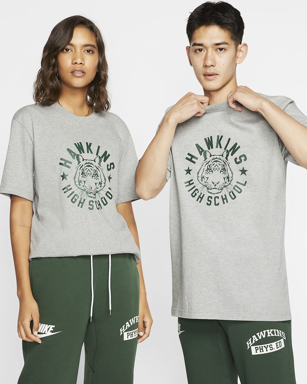 NIKE X HAWKINS HIGH STRANGER THINGS T Shirt