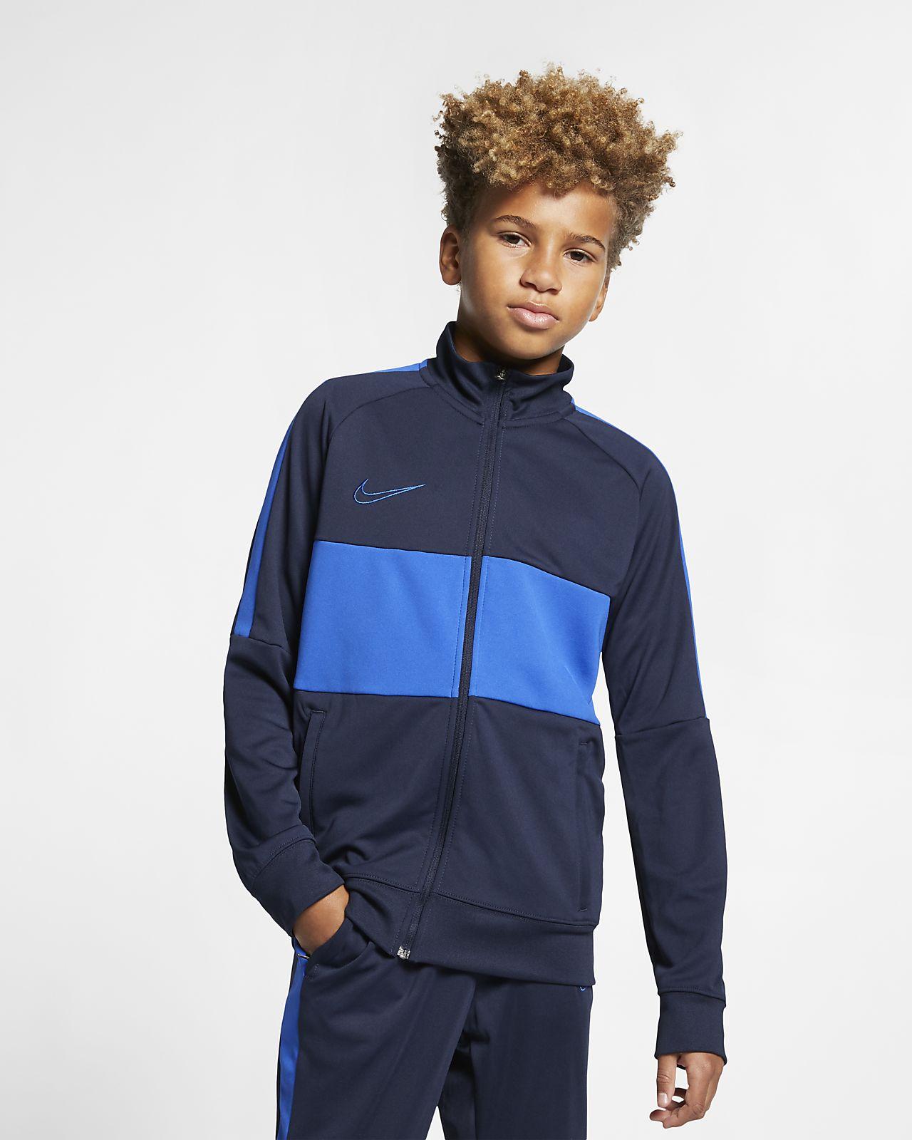 "Nike Dri-FIT Academy ""I96"" Big Kids' Soccer Jacket"