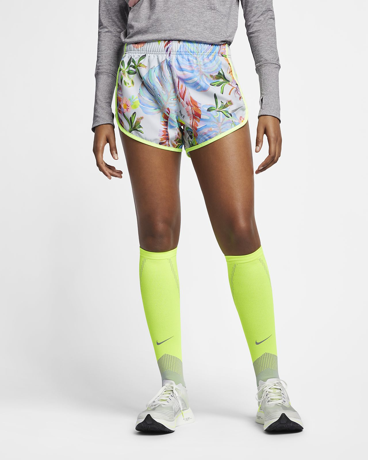 db288dfcbaa2b Nike Tempo Women s Printed Running Shorts. Nike.com BG