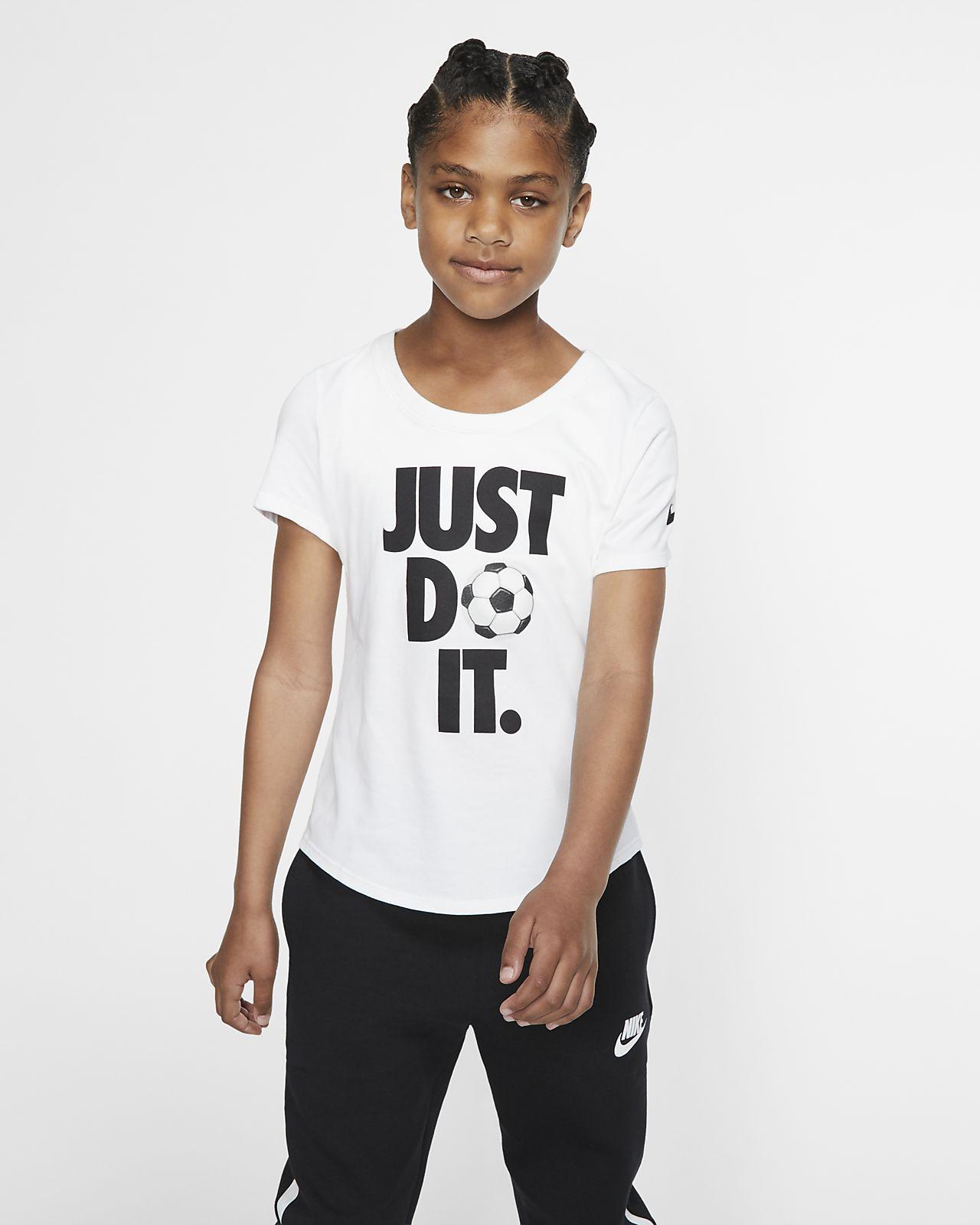 Nike Dri-FIT Big Kids' Just Do It Soccer T-Shirt