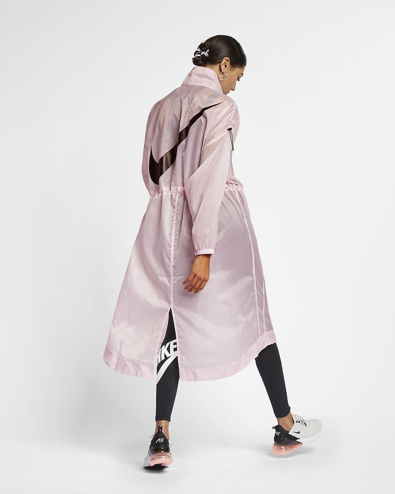 Veste tissée Nike Sportswear Swoosh pour Femme