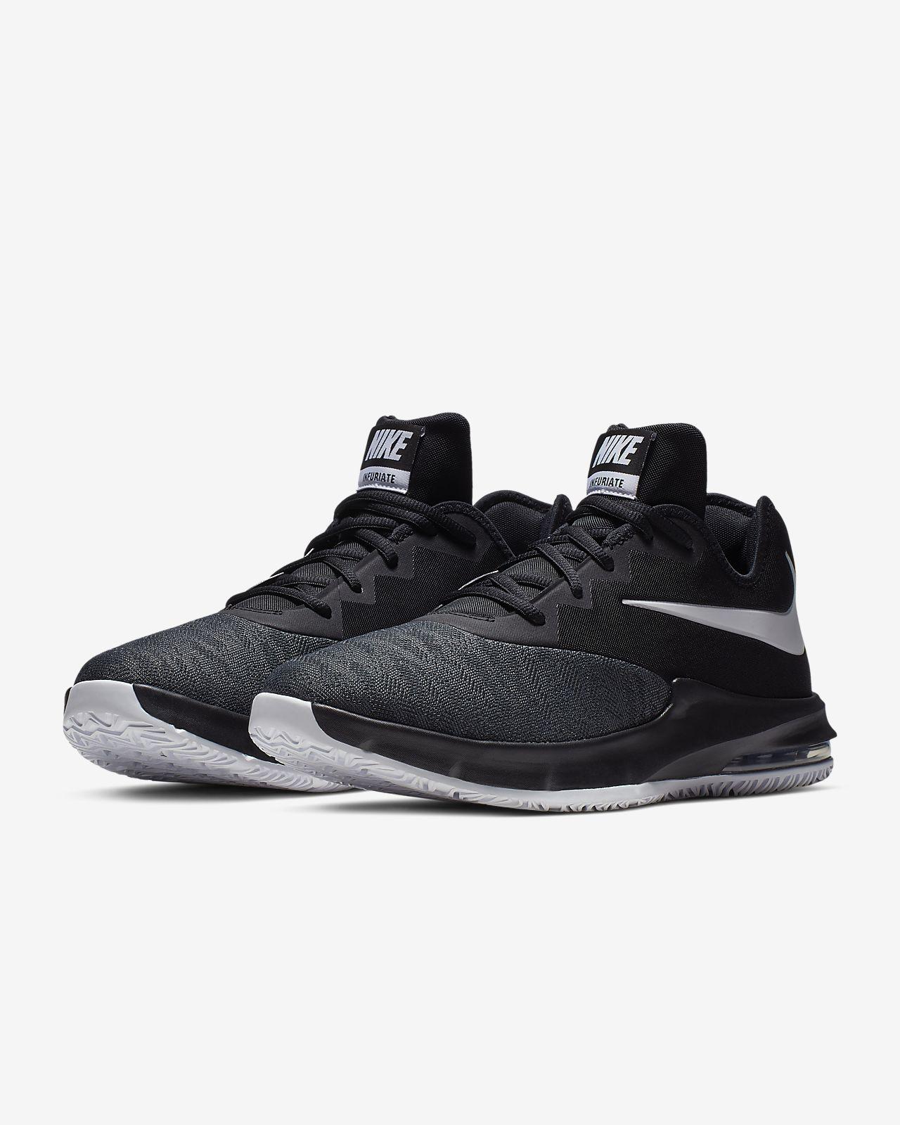 pretty nice 2fcee 4e870 ... Nike Air Max Infuriate III Low Men s Basketball Shoe