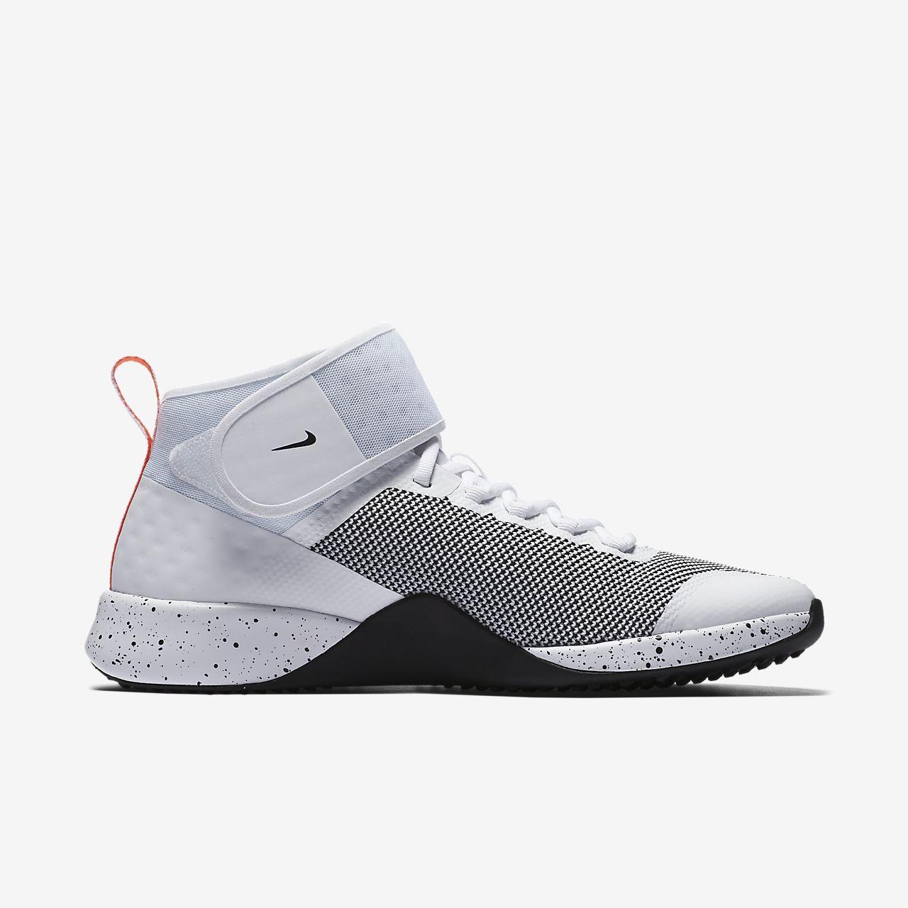 Chaussure Mi-hauteur Avec Port De Plaisance Velcro, Confort Noir Et Vert