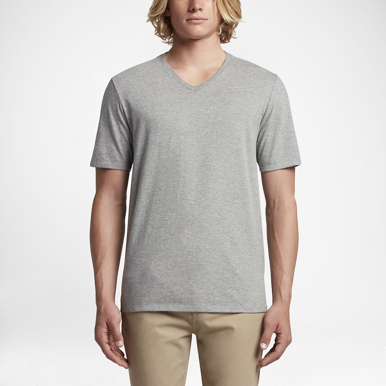 ... Hurley Staple V-Neck Men's T-Shirt