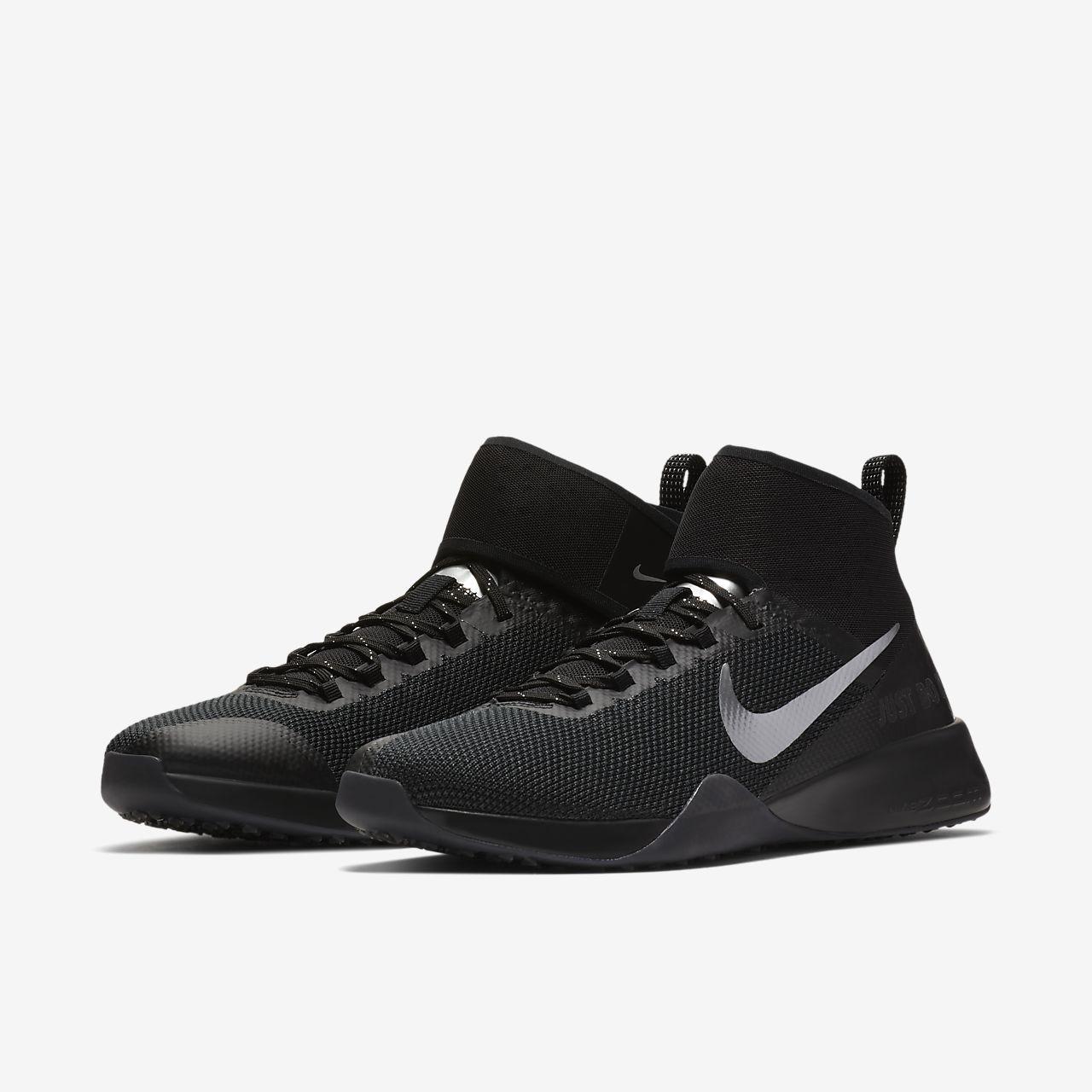 Nike Air Formation Zoom Forts Formateurs Selfie - Noir / Chrome rOAwJ1