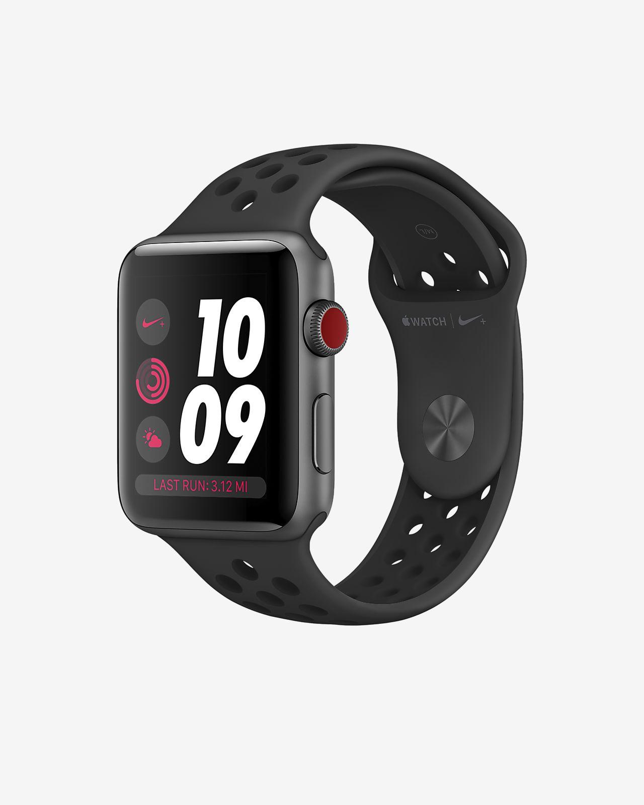 Apple Watch Nike Series 3 (GPS + Cellular) 42mm Running Watch