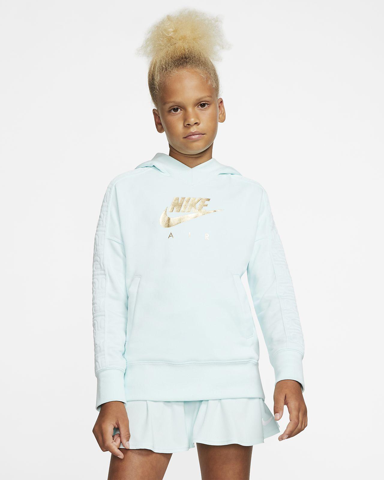 Nike Air Big Kids' (Girls') Pullover Hoodie