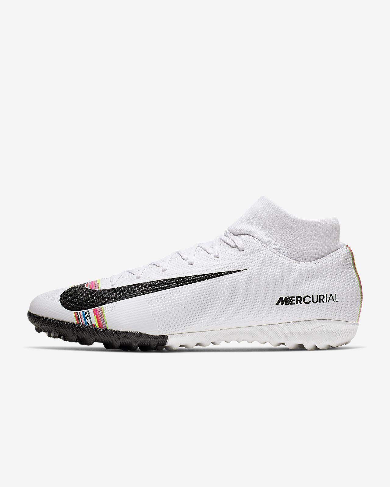 รองเท้าฟุตบอลสำหรับพื้นสนามหญ้าเทียม Nike SuperflyX 6 Academy LVL UP TF