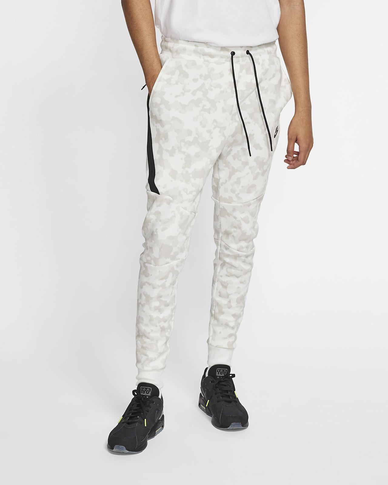 Calças de jogging estampadas Nike Sportswear Tech Fleece para homem