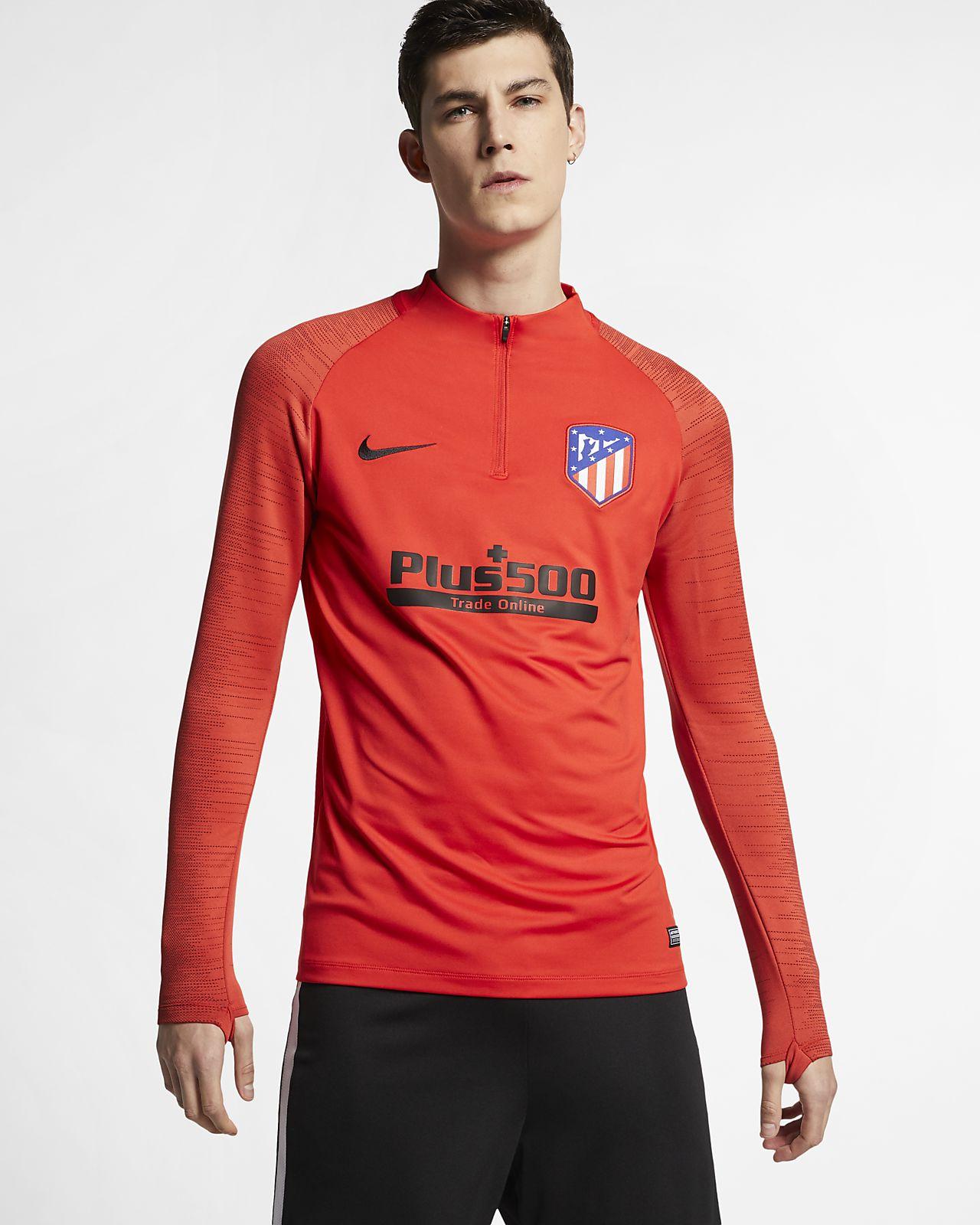 Haut de football Nike Dri-FIT Atlético de Madrid Strike pour Homme