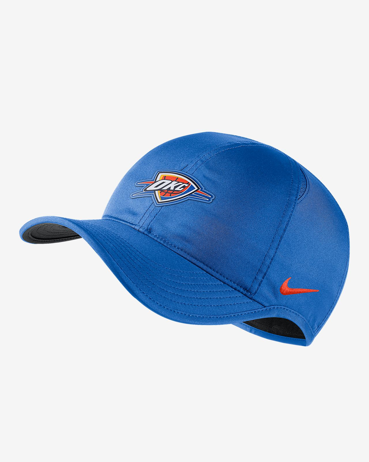 c1ca5d3b7177 Oklahoma City Thunder Nike AeroBill Featherlight NBA Hat. Nike.com