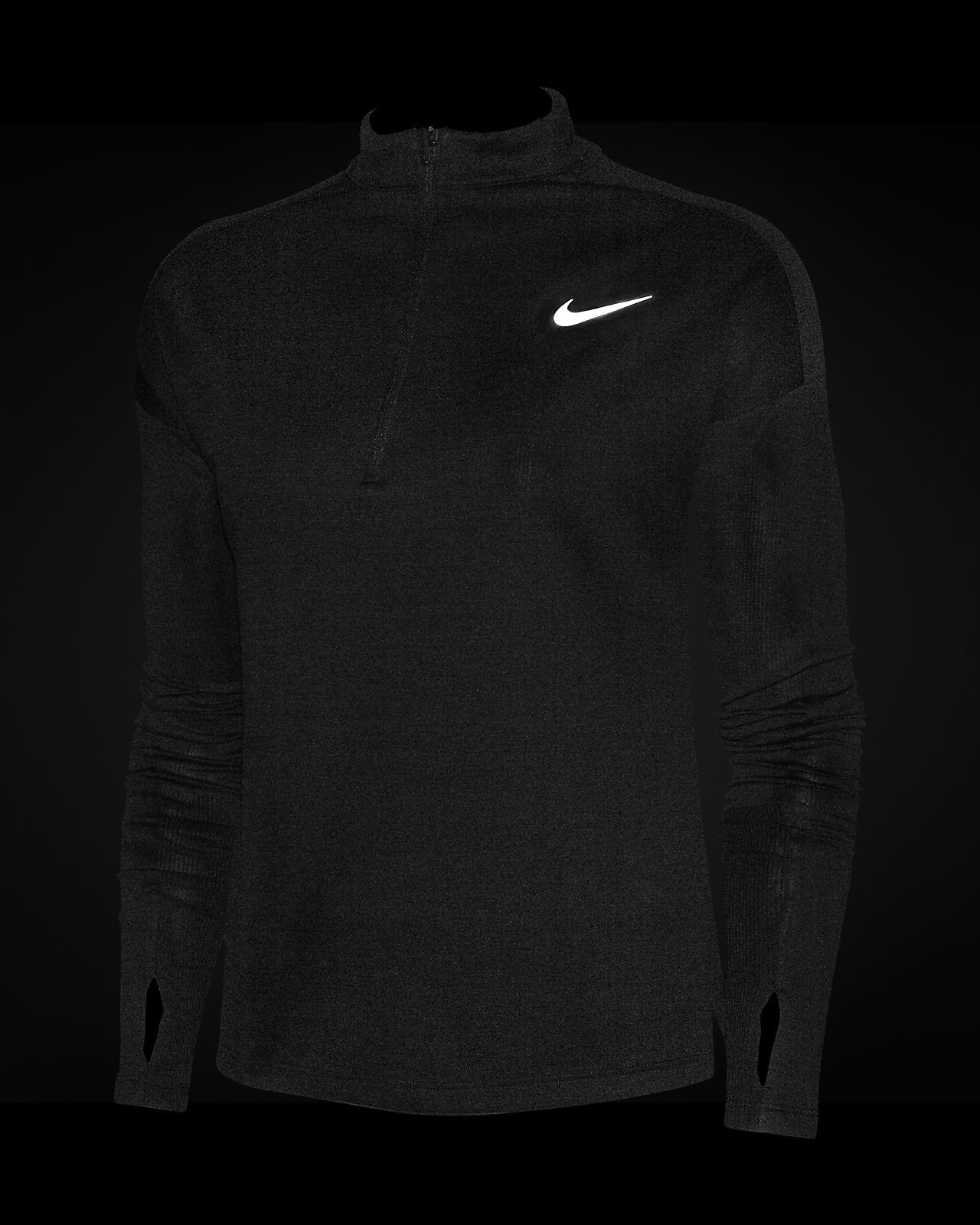 Running Pacer Mujer Con Media De Nike Camiseta Cremallera sBrCxdhQto