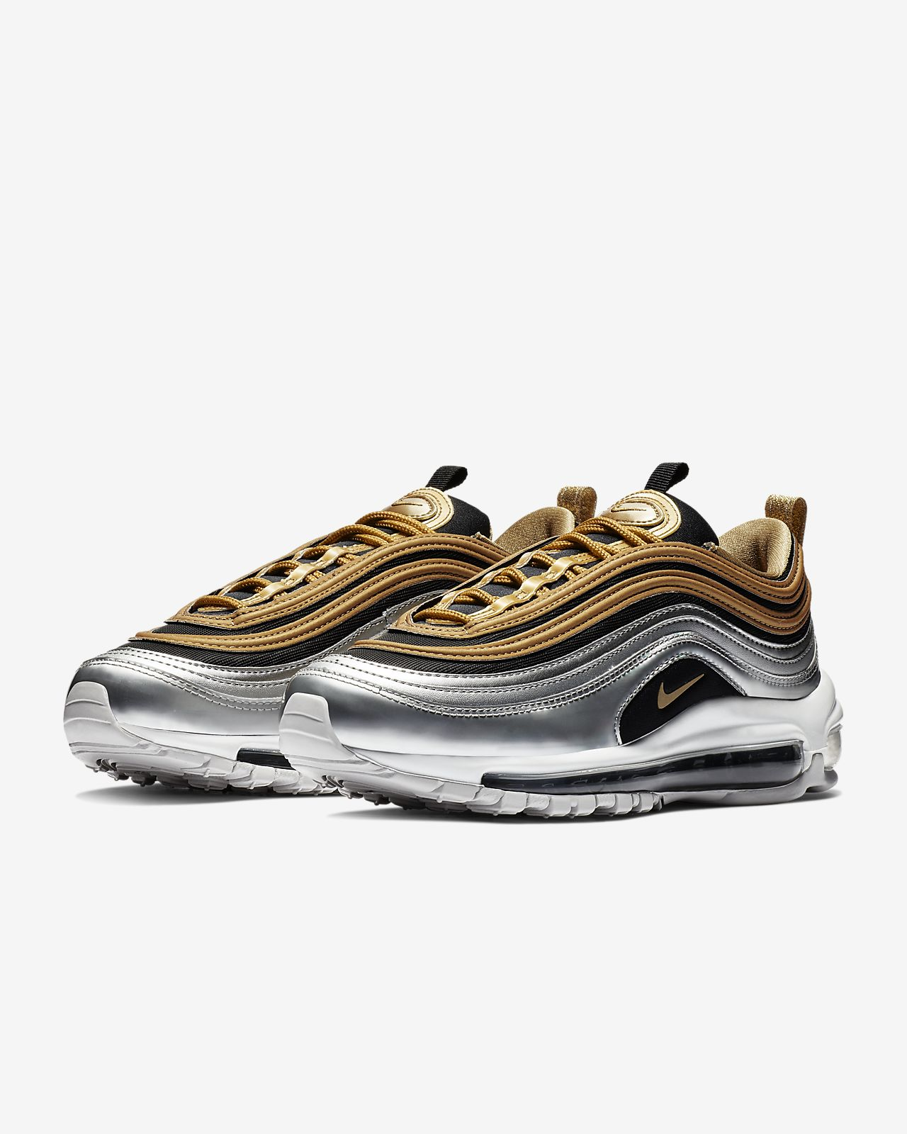 the latest 484c0 d1198 Nike Air Max 97 SE Metallic Women's Shoe